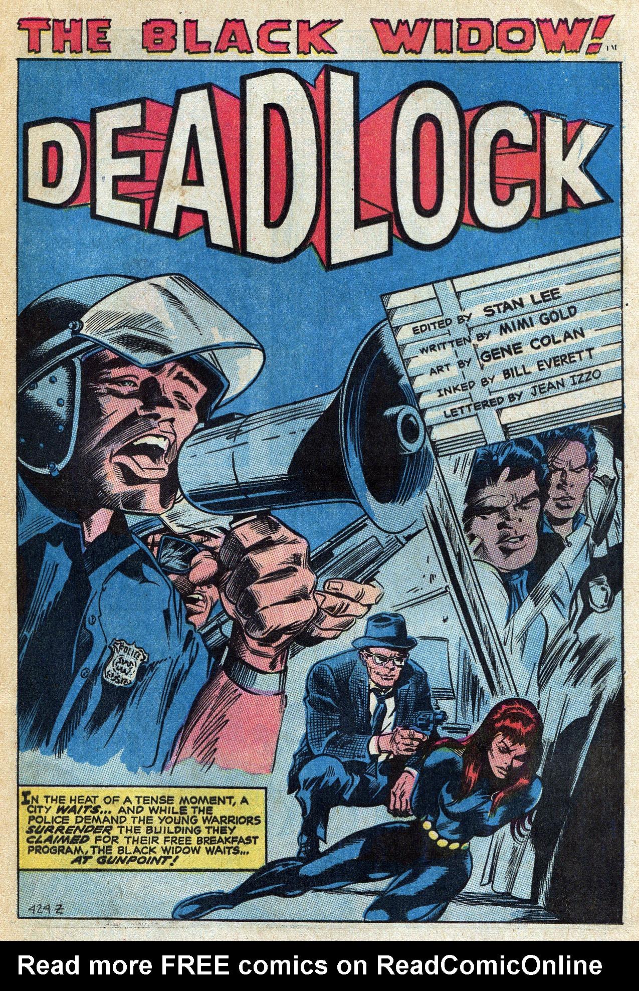 Read online Amazing Adventures (1970) comic -  Issue #4 - 17