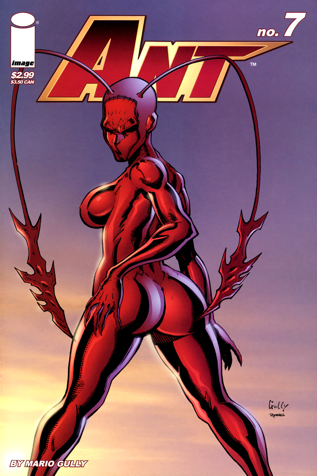 Read online Ant comic -  Issue #7 - 1