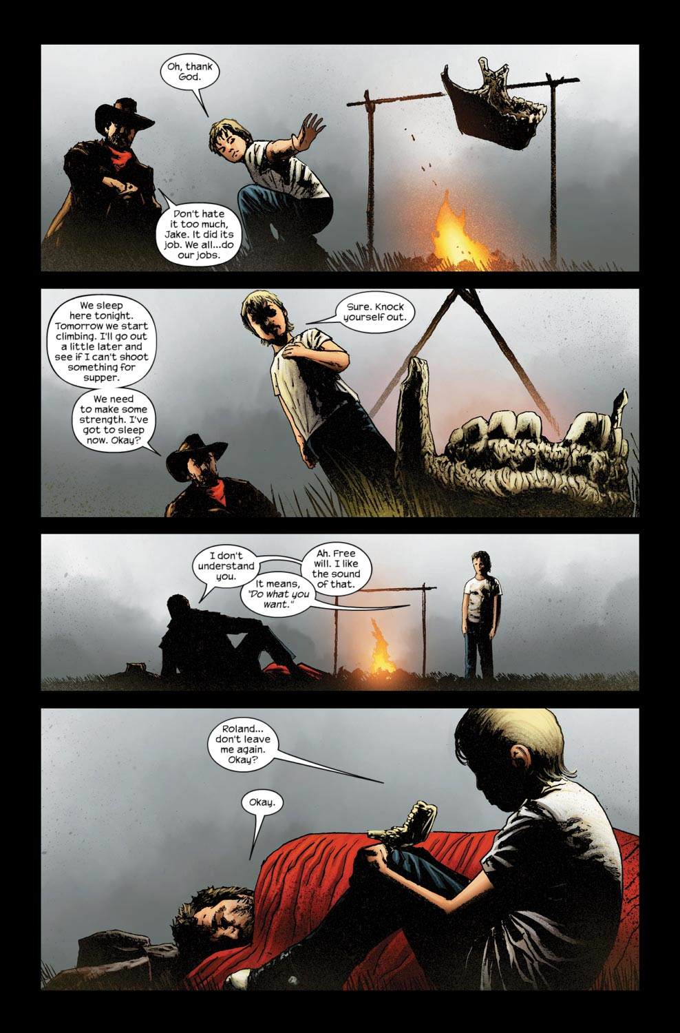 Read online Dark Tower: The Gunslinger - The Way Station comic -  Issue #5 - 18