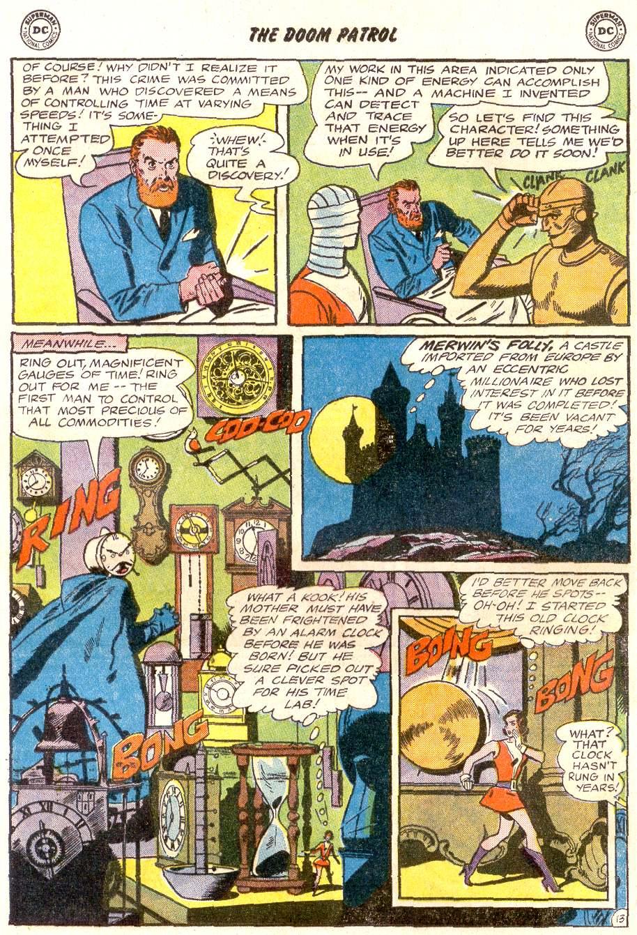 Doom Patrol (1964) issue 92 - Page 17