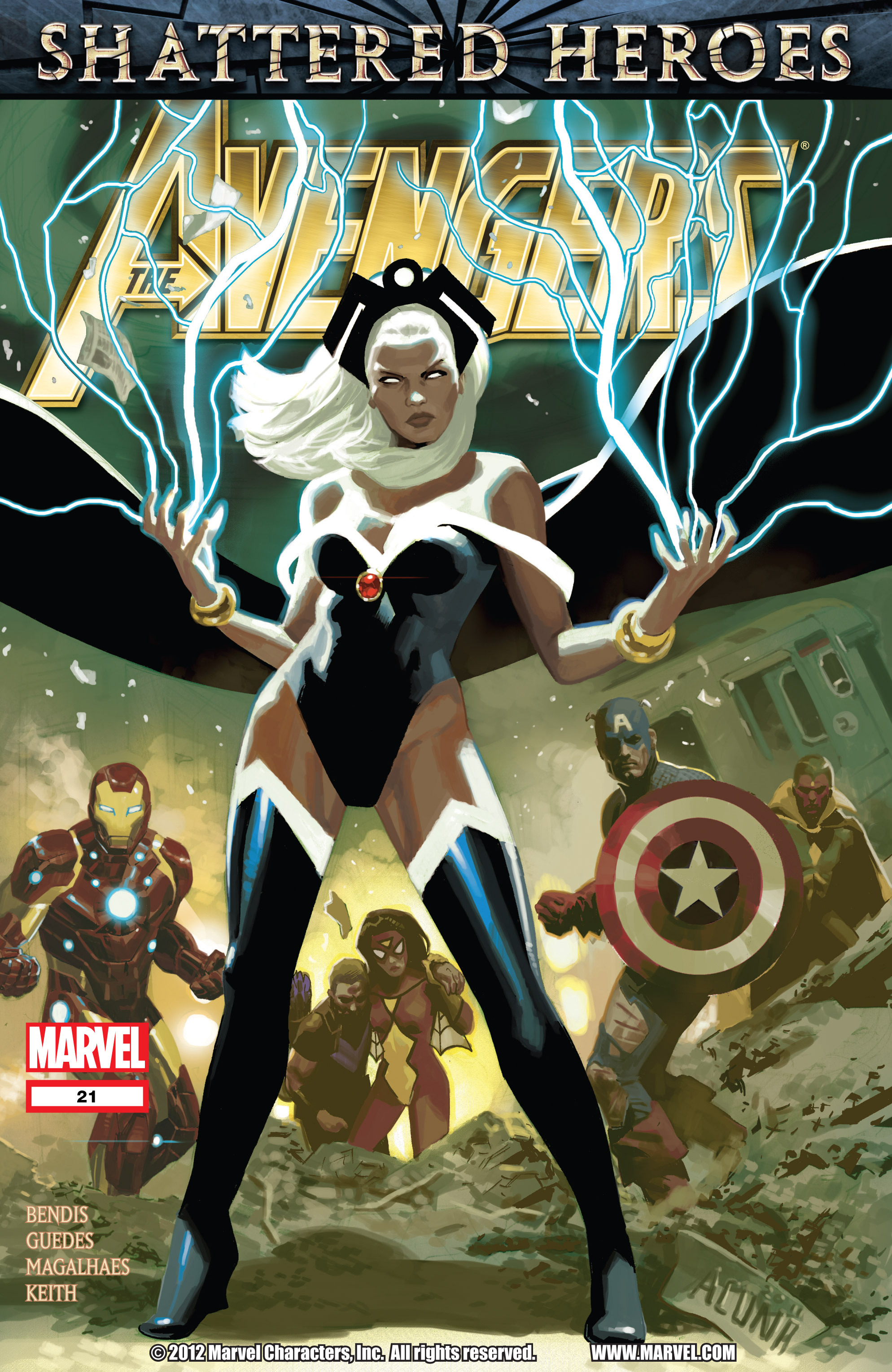 Read online Avengers (2010) comic -  Issue #21 - 1