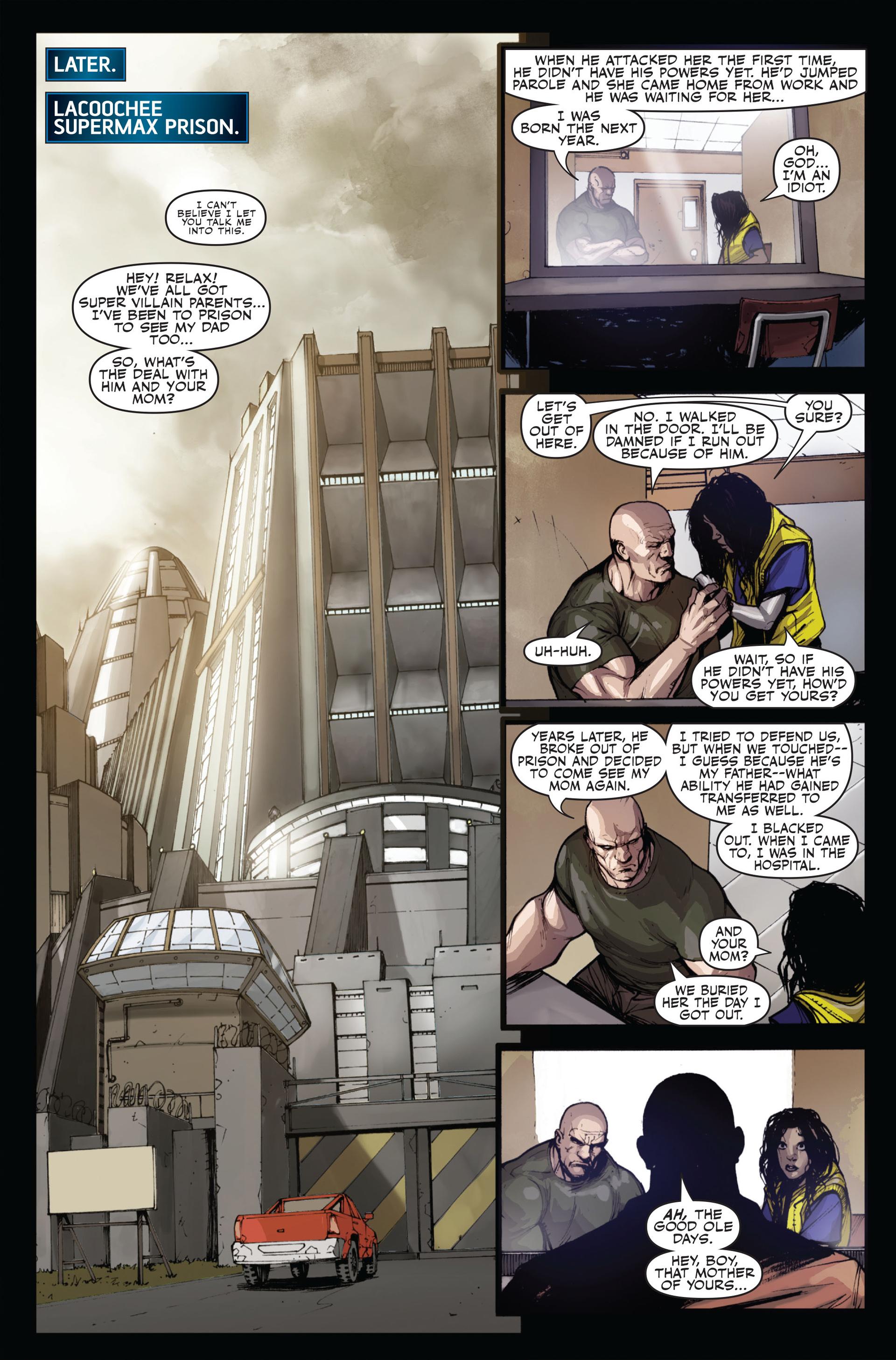 Read online Secret Warriors comic -  Issue #12 - 10