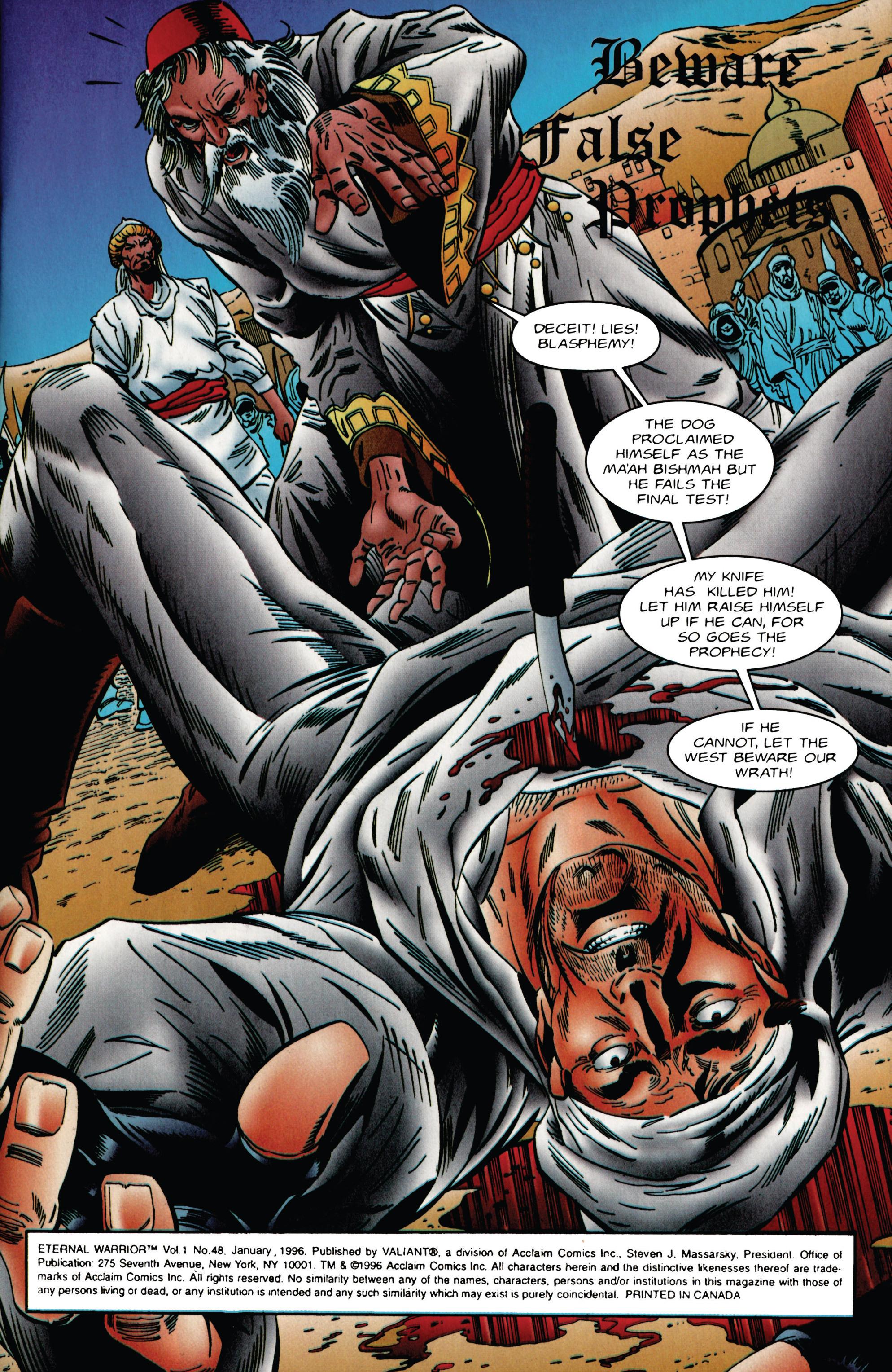 Read online Eternal Warrior (1992) comic -  Issue #48 - 2