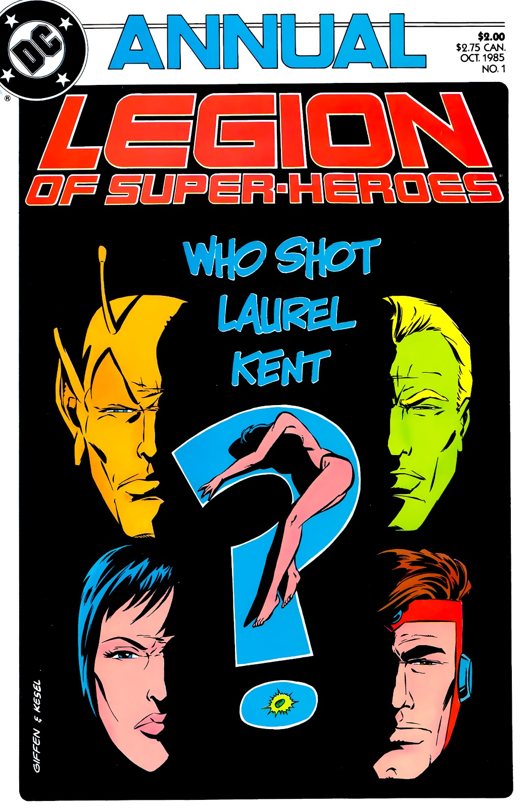 Legion of Super-Heroes (1984) _Annual_1 Page 1