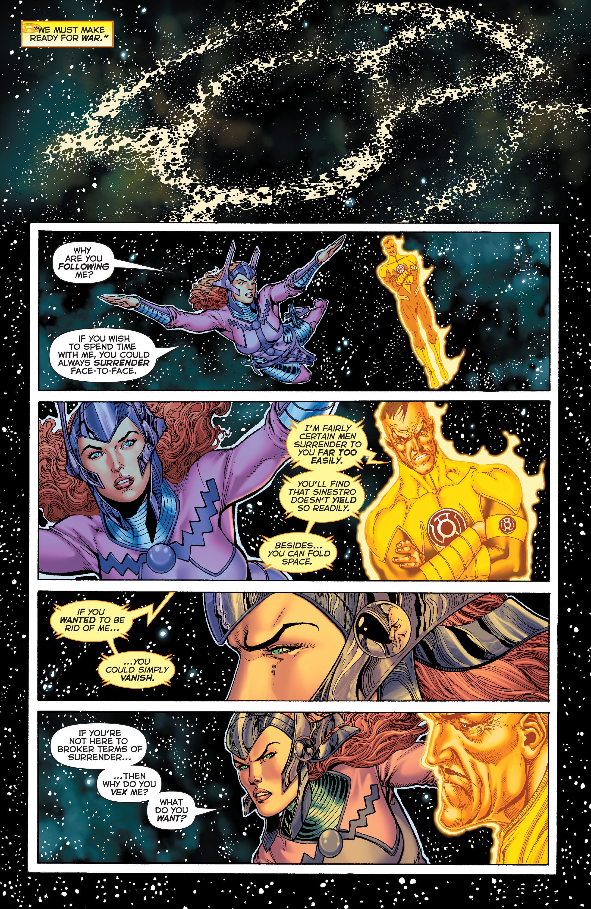 Read online Sinestro comic -  Issue #7 - 17