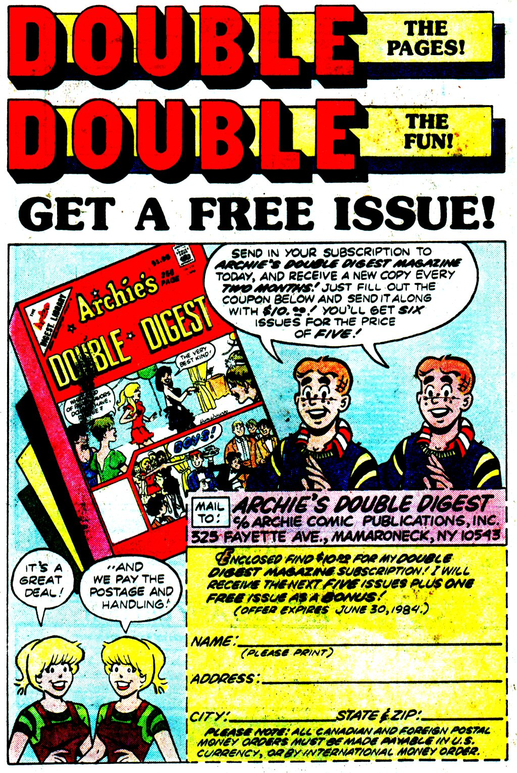 Read online Archie (1960) comic -  Issue #329 - 28