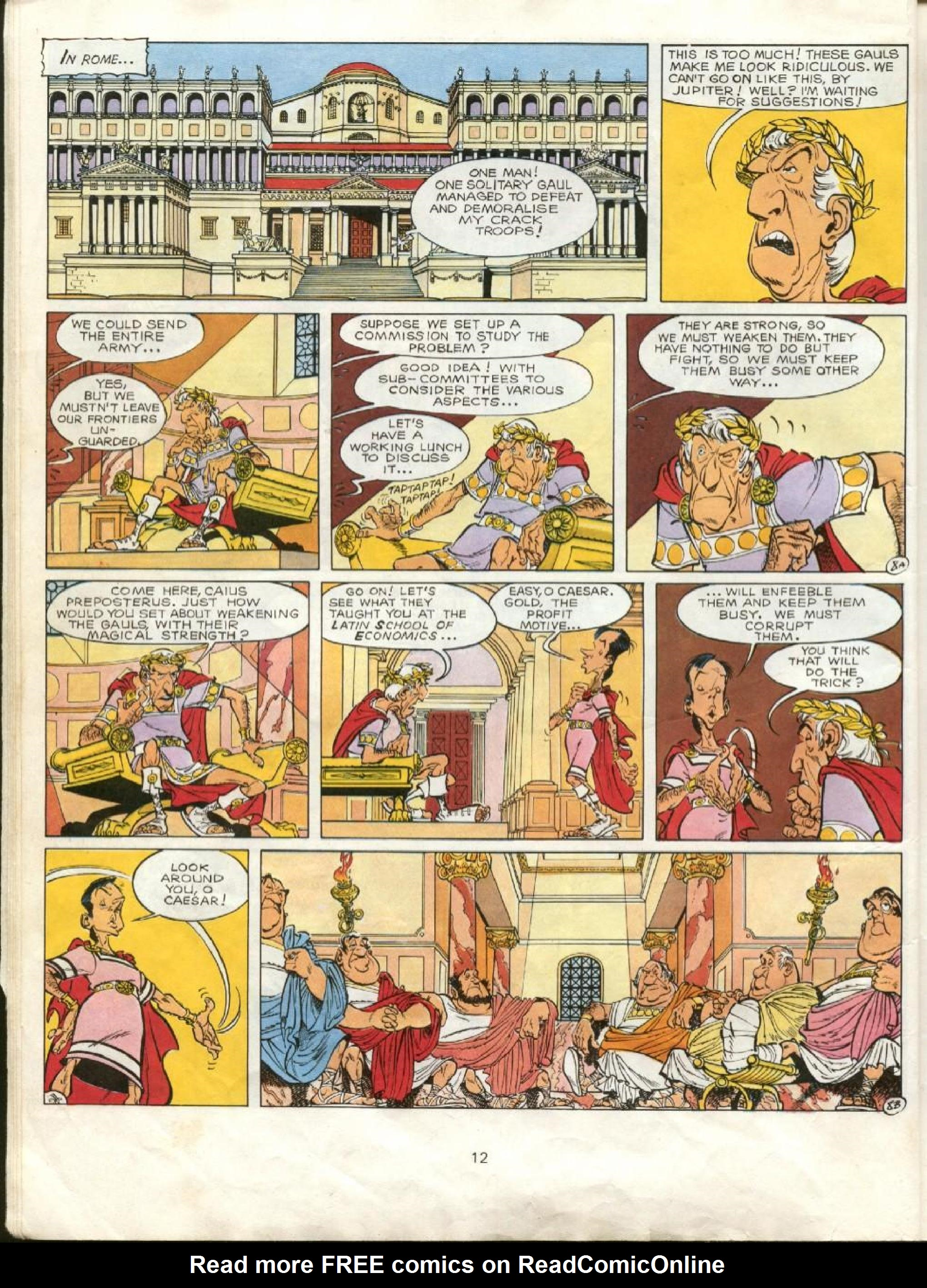 Read online Asterix comic -  Issue #23 - 9