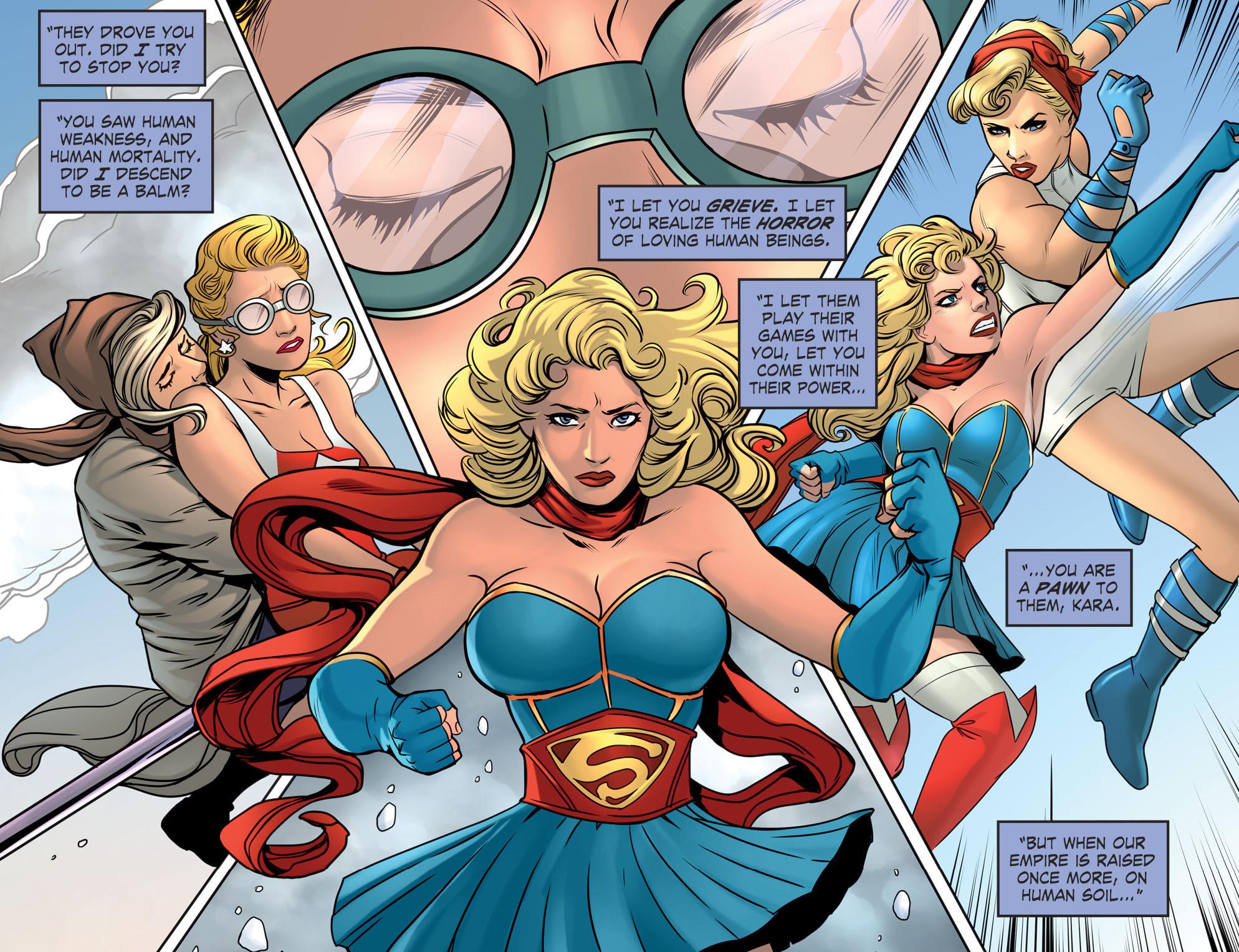 Read online DC Comics: Bombshells comic -  Issue #94 - 19