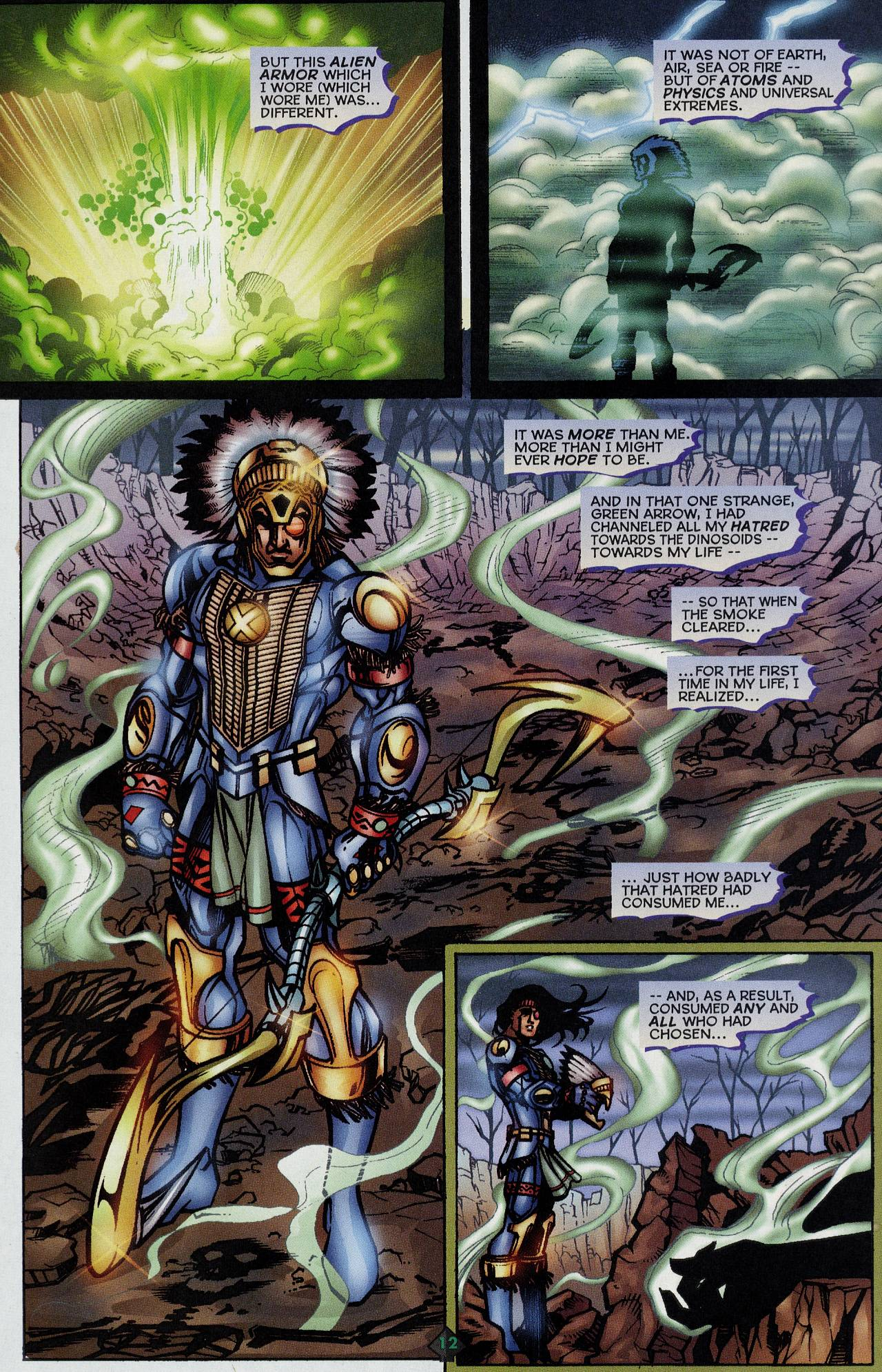 Read online Turok: Tales of the Lost Land comic -  Issue # Full - 10
