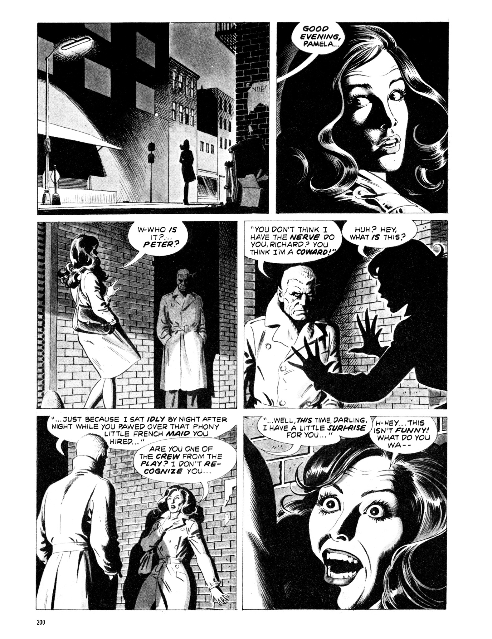 Read online Eerie Archives comic -  Issue # TPB 20 - 200