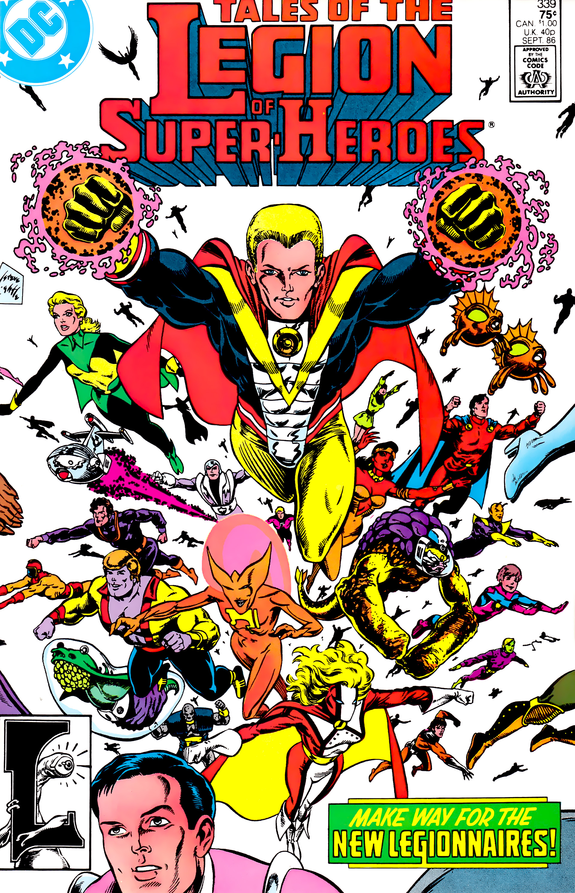 Legion of Super-Heroes (1984) 14 Page 1