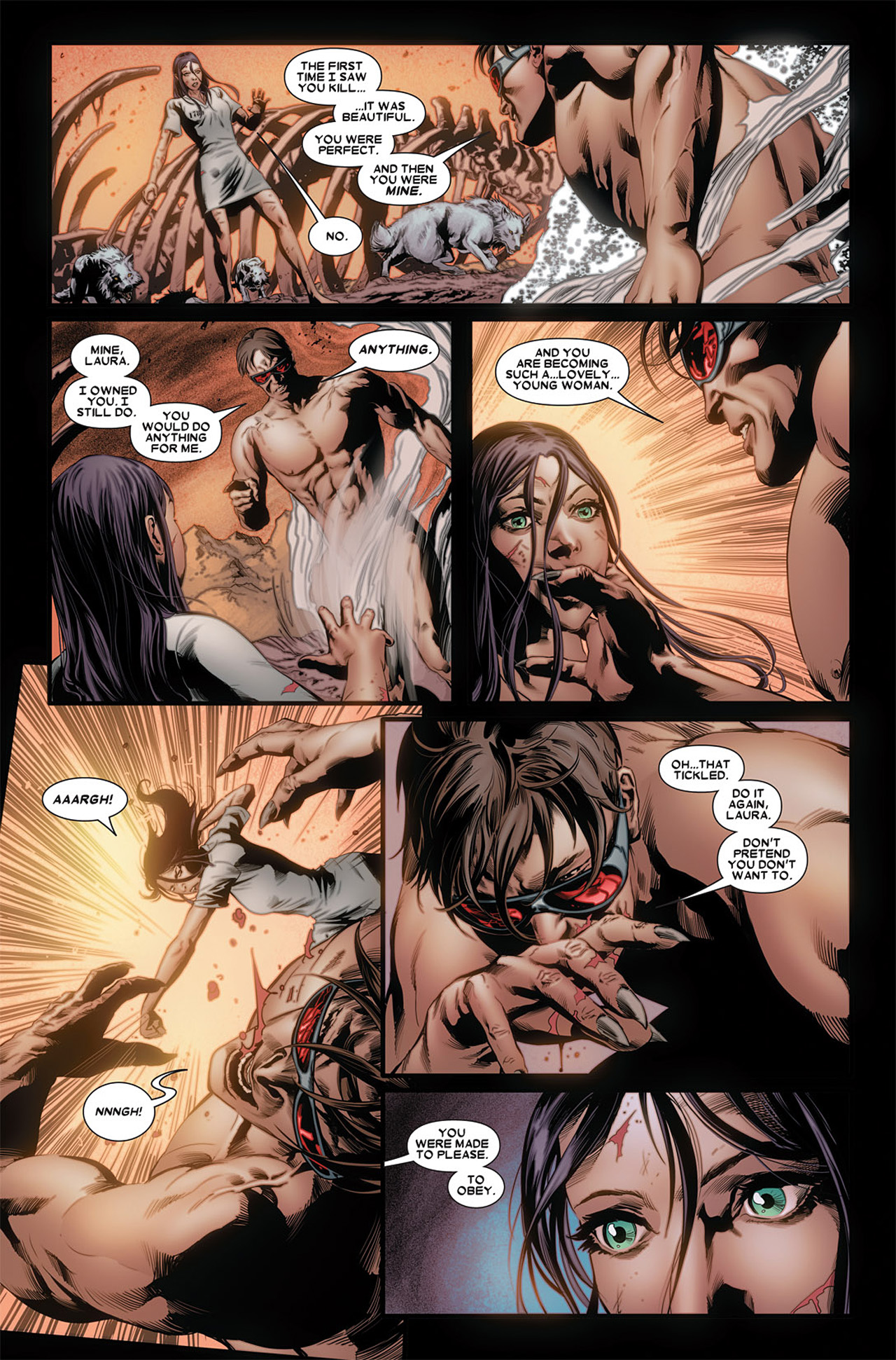 Read online X-23 (2010) comic -  Issue #3 - 7