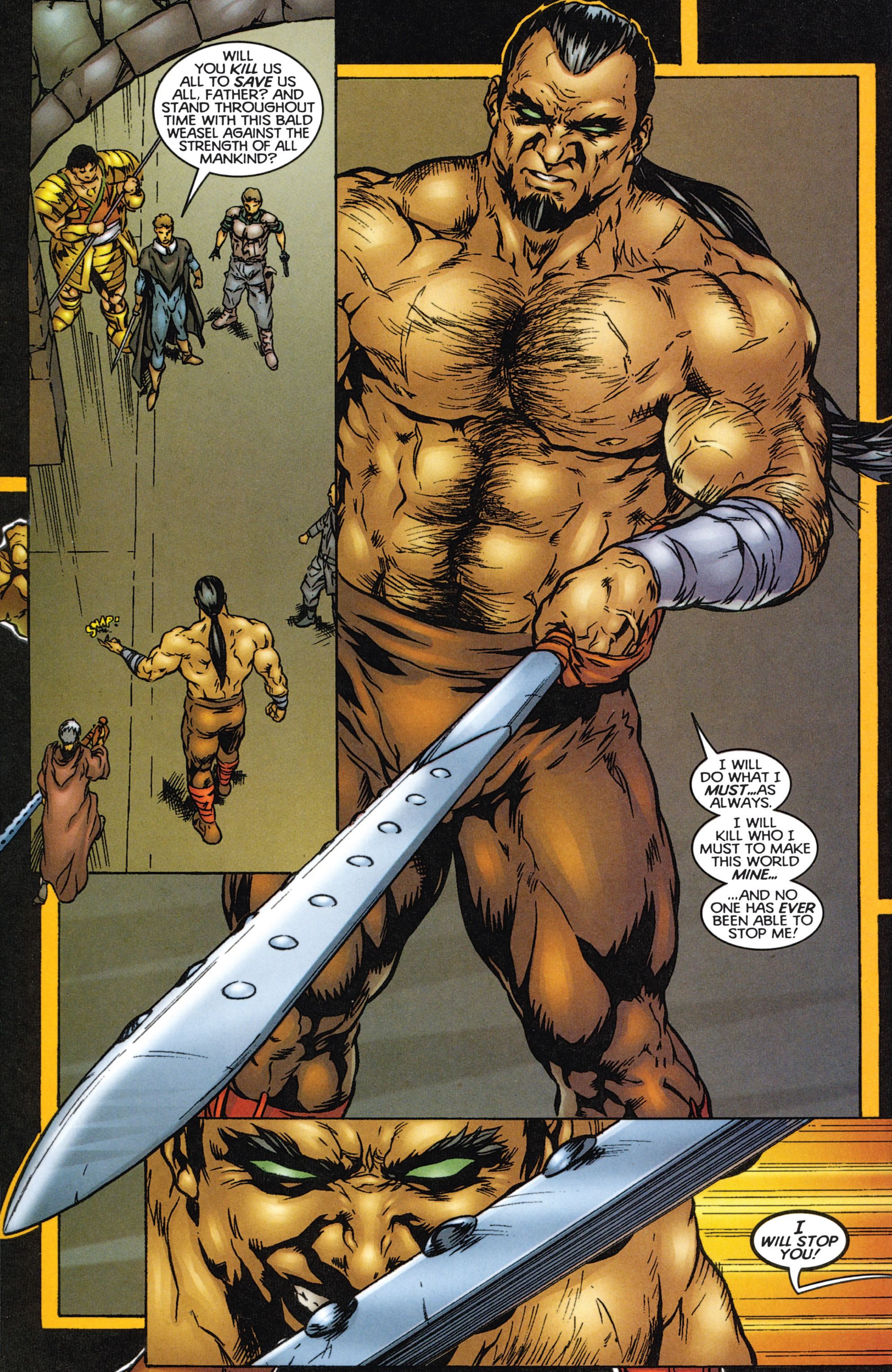Read online Eternal Warriors comic -  Issue # Issue The Immortal Enemy - 26