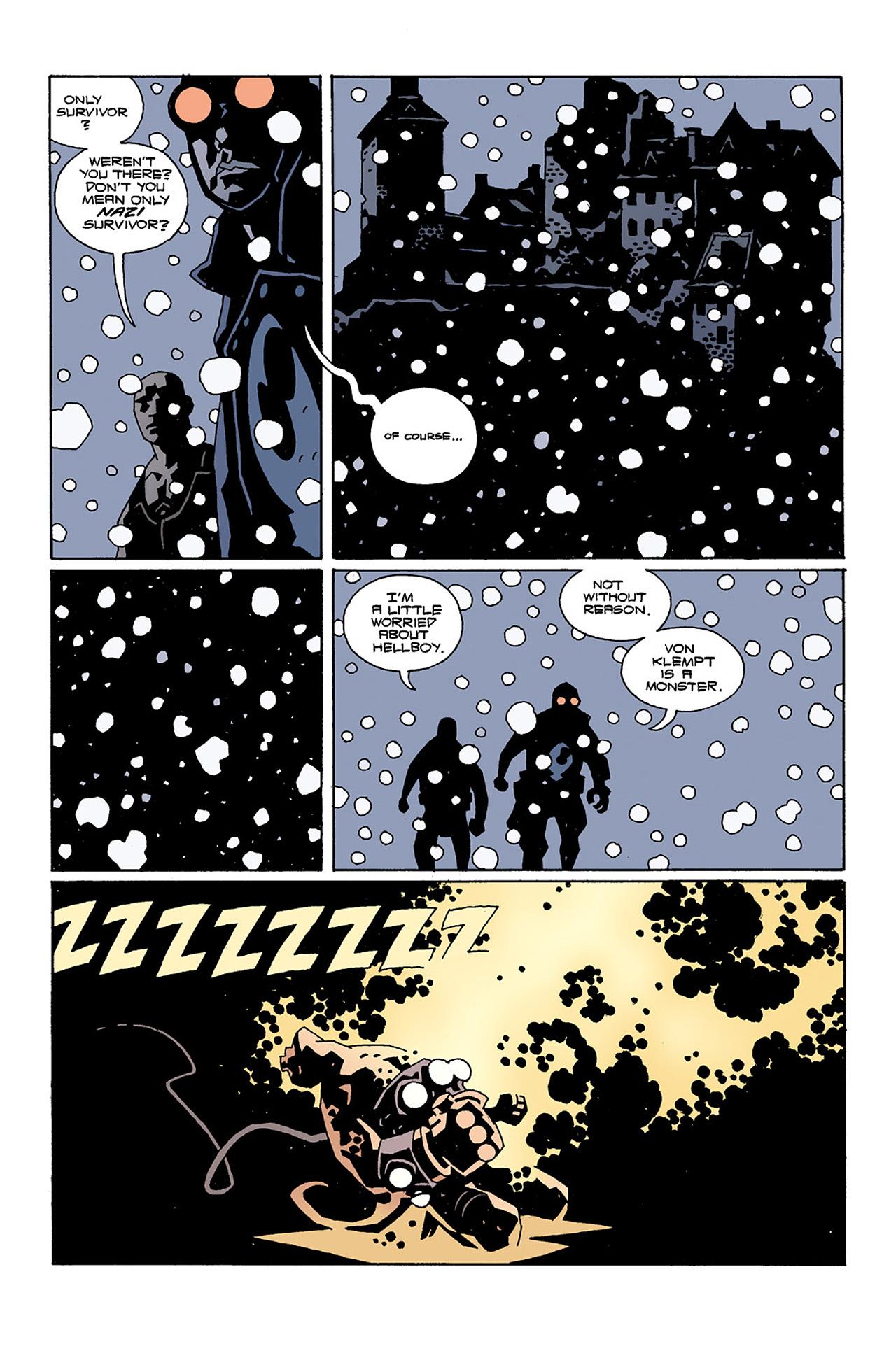 Read online Hellboy: Conqueror Worm comic -  Issue #2 - 12