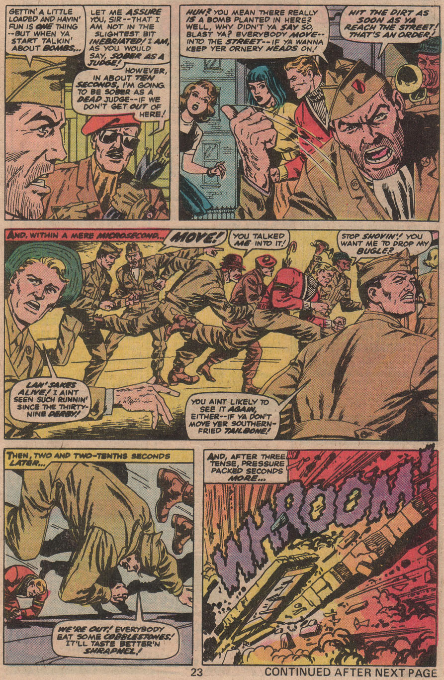 Read online Sgt. Fury comic -  Issue #142 - 25