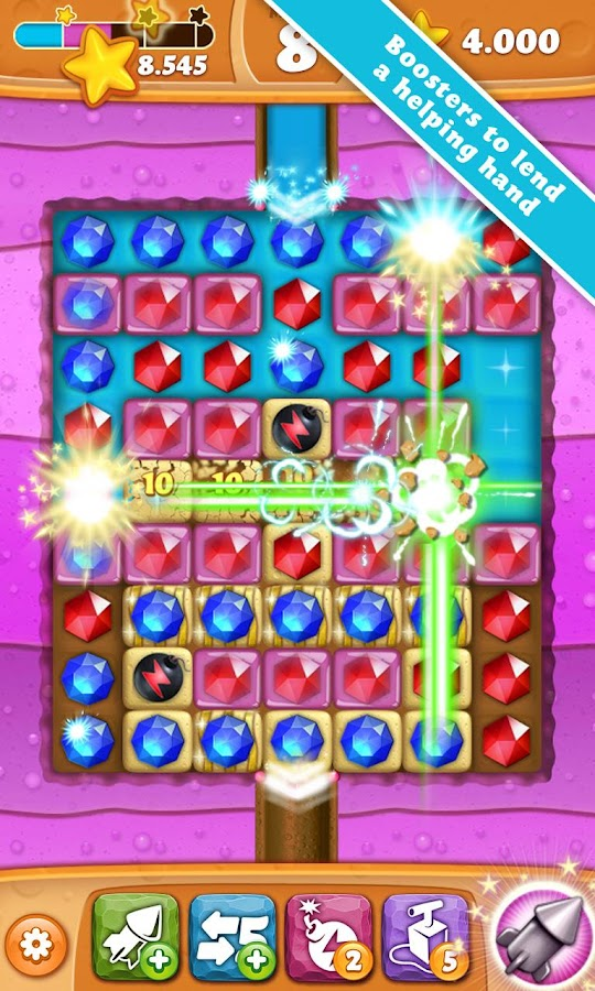 Permainan Diamond Digger Saga 2.7.0 Apk