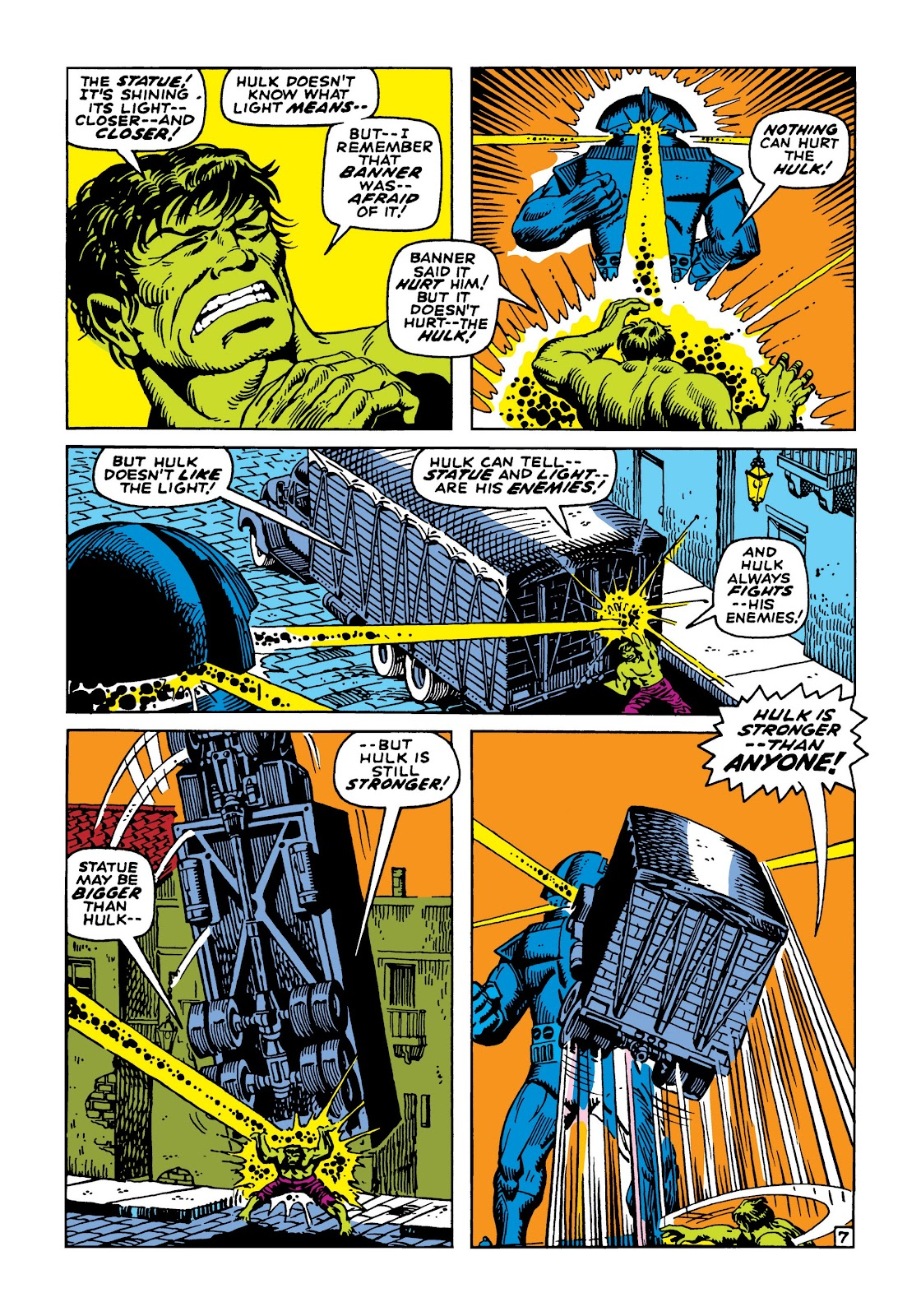 Read online Marvel Masterworks: The Incredible Hulk comic -  Issue # TPB 5 (Part 2) - 81