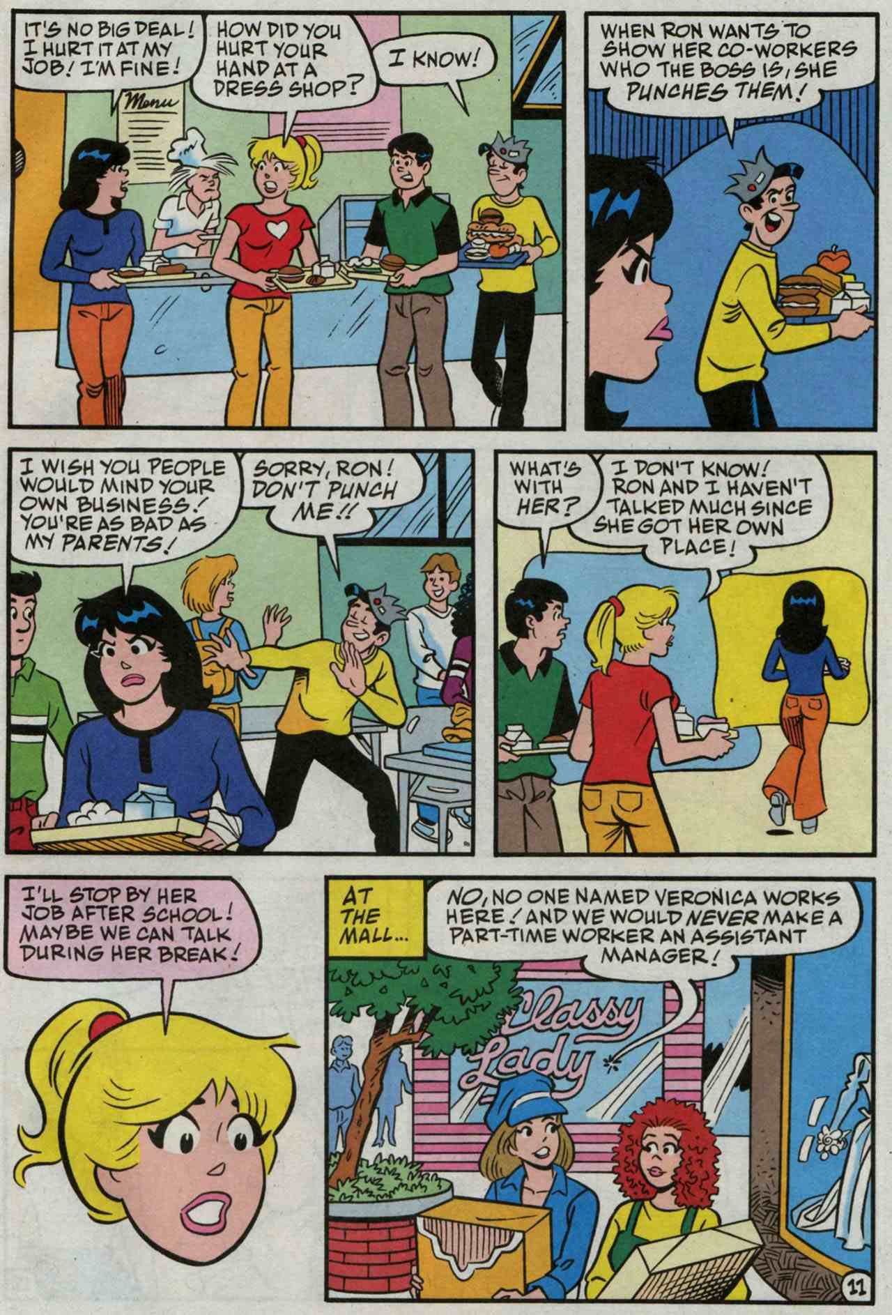 Read online Archie's Girls Betty and Veronica comic -  Issue #235 - 12