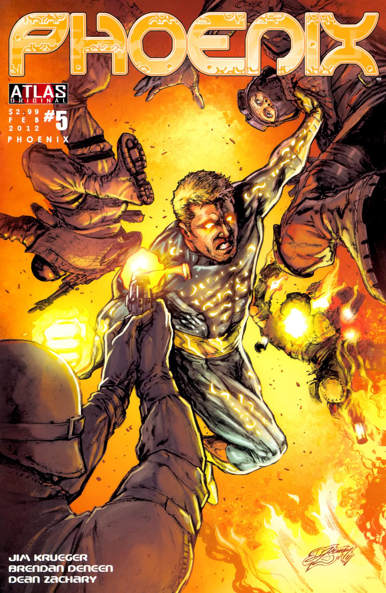 Read online Phoenix comic -  Issue #5 - 1