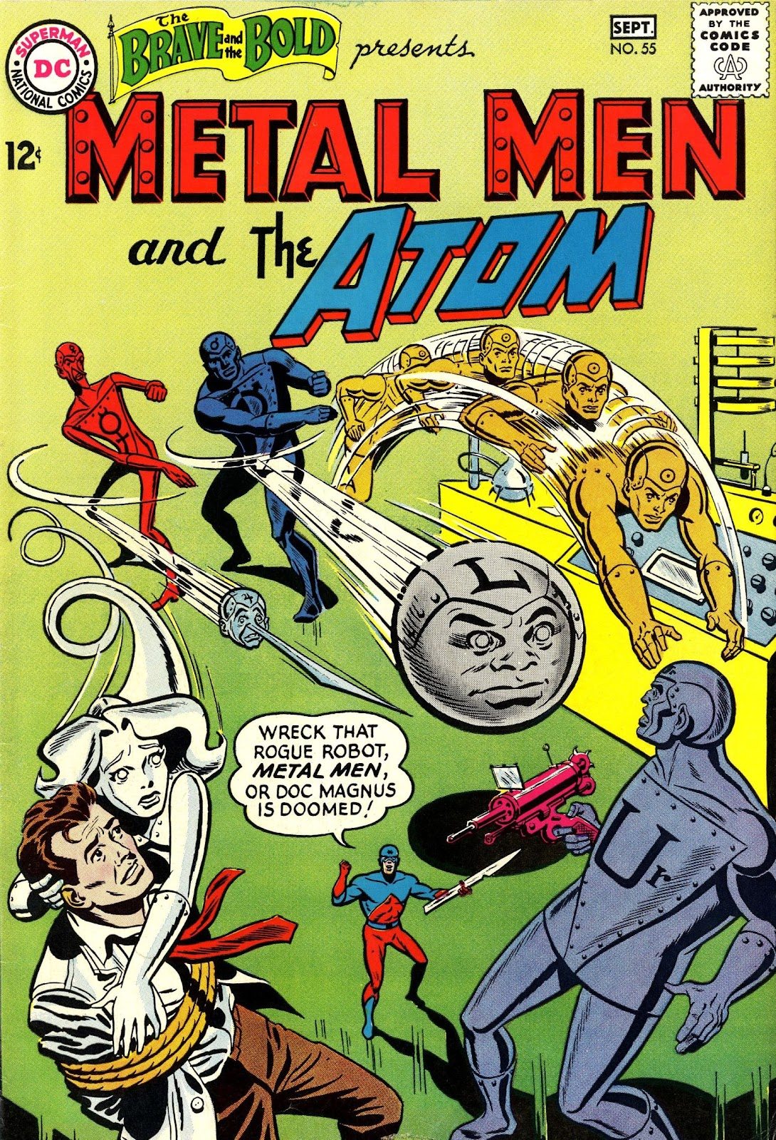 The Brave and the Bold (1955) issue 55 - Page 1