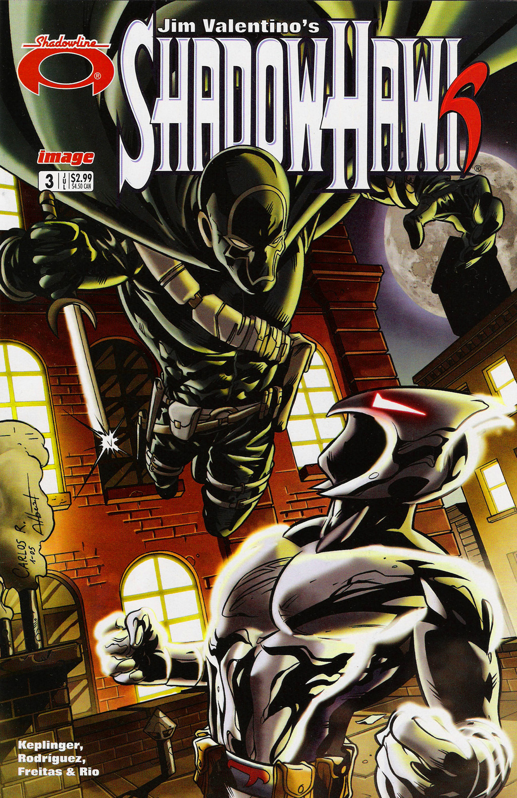Read online ShadowHawk (2005) comic -  Issue #3 - 1