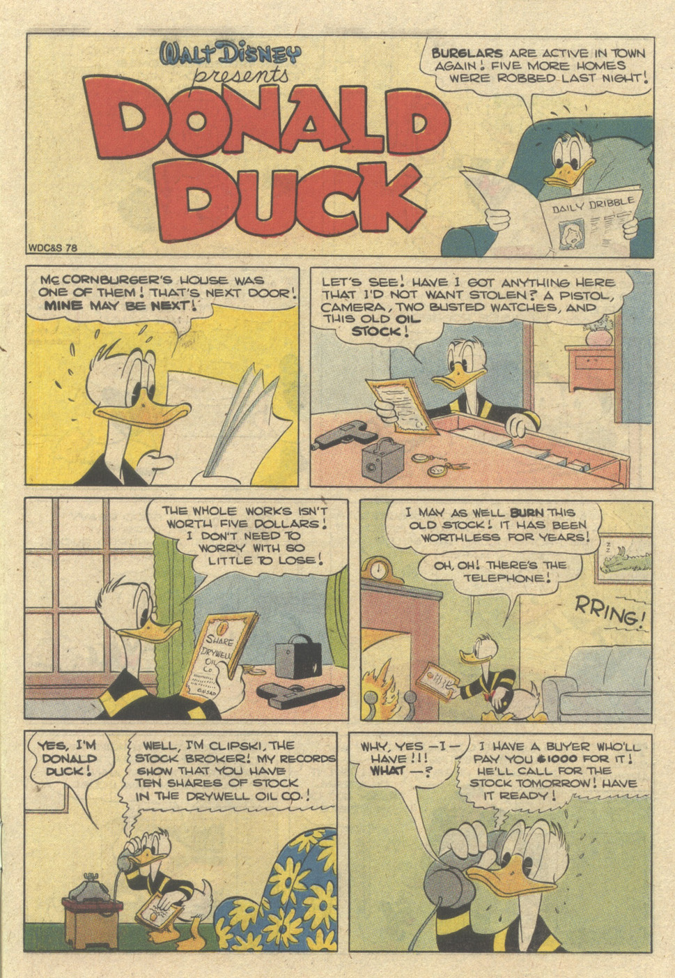 Walt Disney's Donald Duck (1986) issue 272 - Page 3