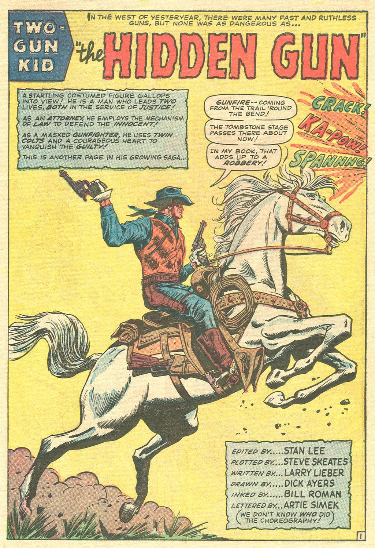 Read online Two-Gun Kid comic -  Issue #81 - 3