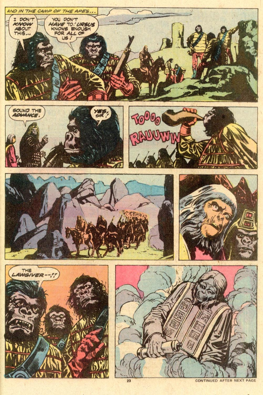 Read online Adventures on the Planet of the Apes comic -  Issue #10 - 15