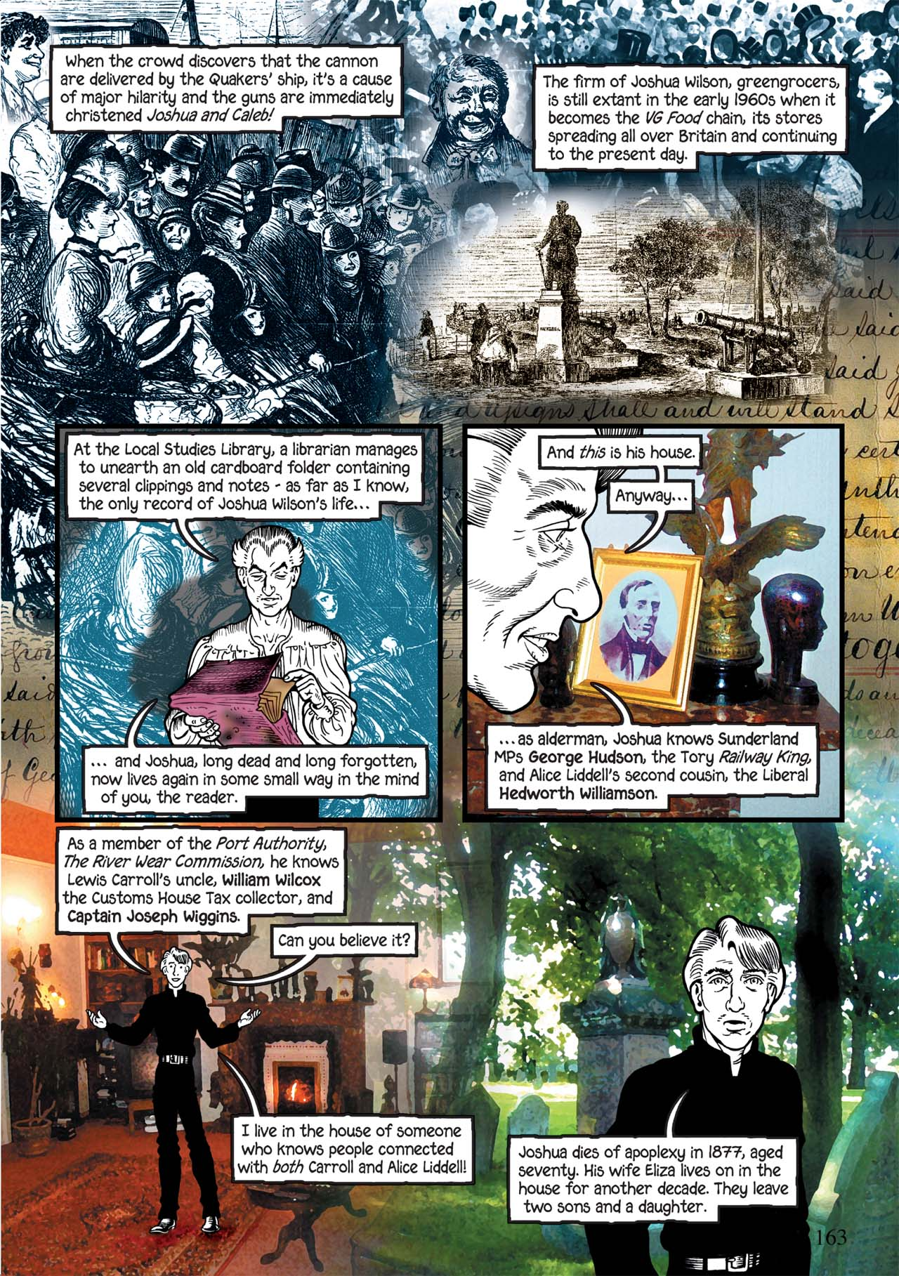 Read online Alice in Sunderland comic -  Issue # Full - 167