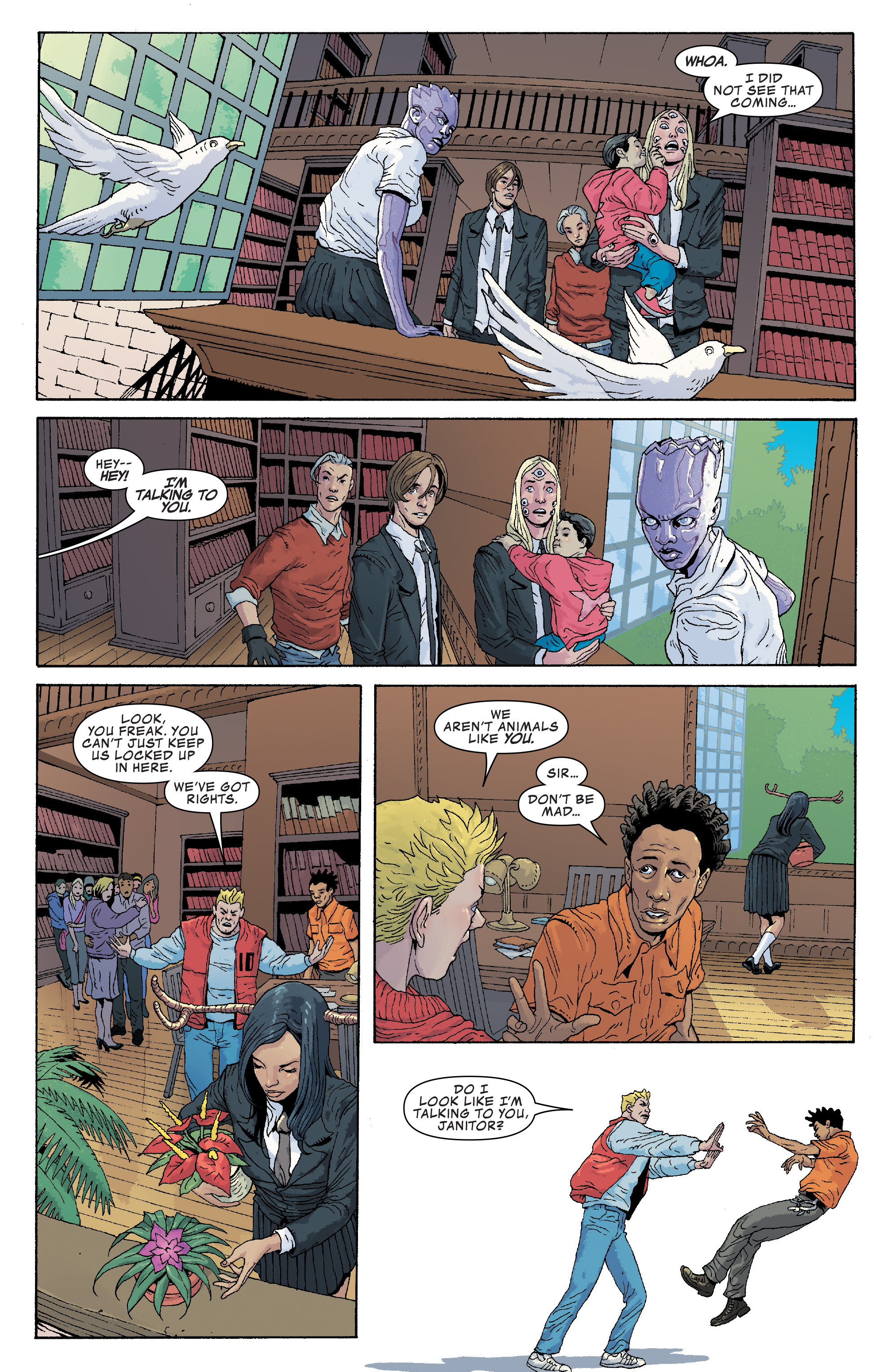 Read online Generation X (2017) comic -  Issue #2 - 11