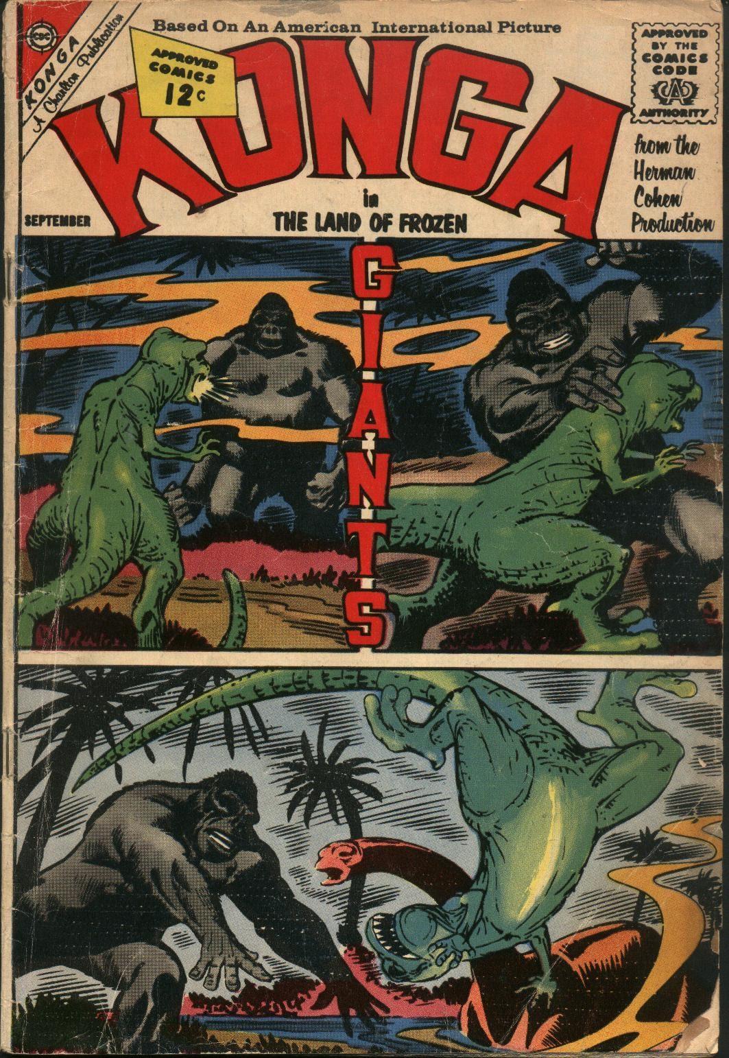 Konga 8 Page 1