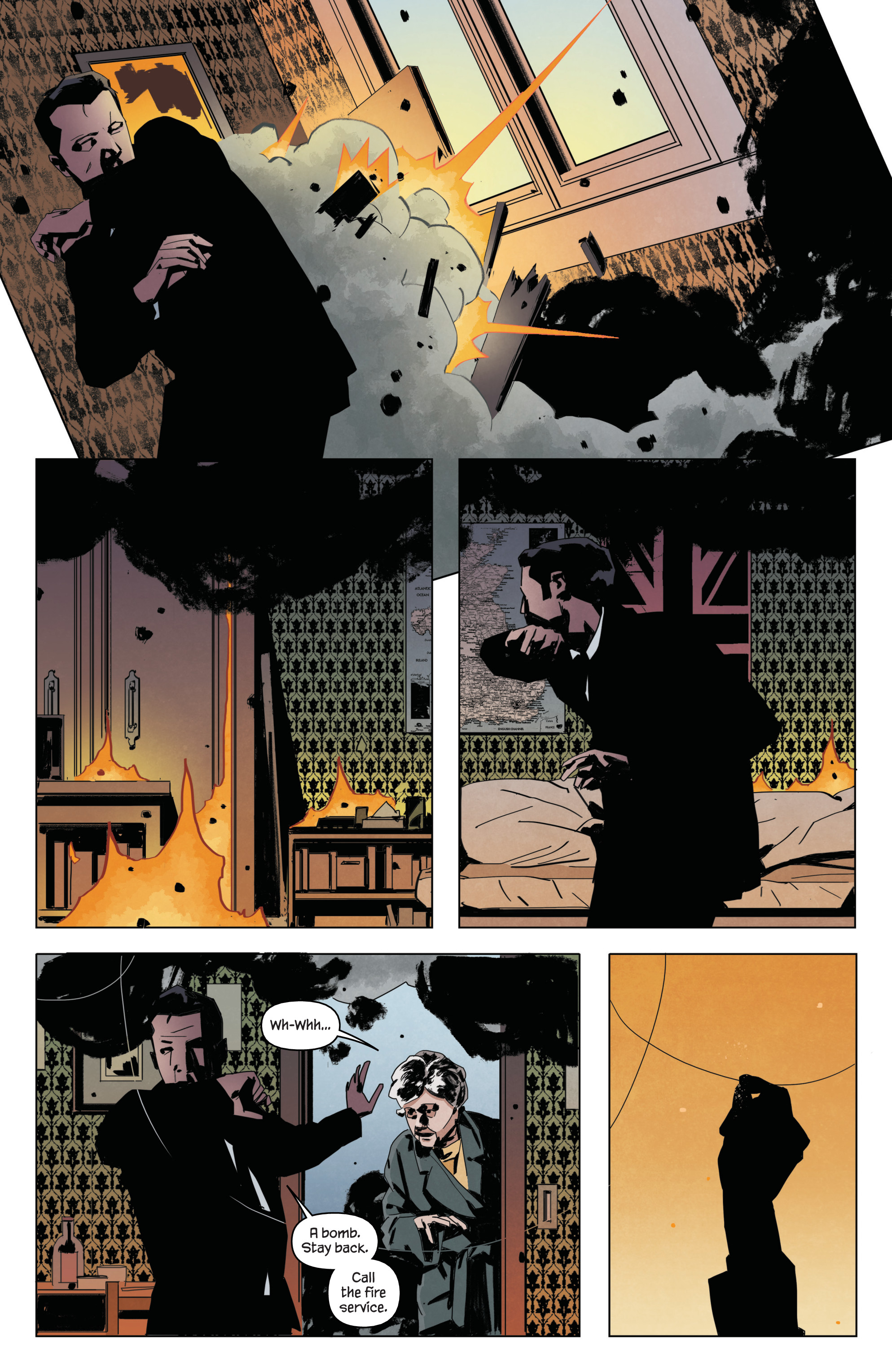 Read online James Bond: Service comic -  Issue # Full - 13