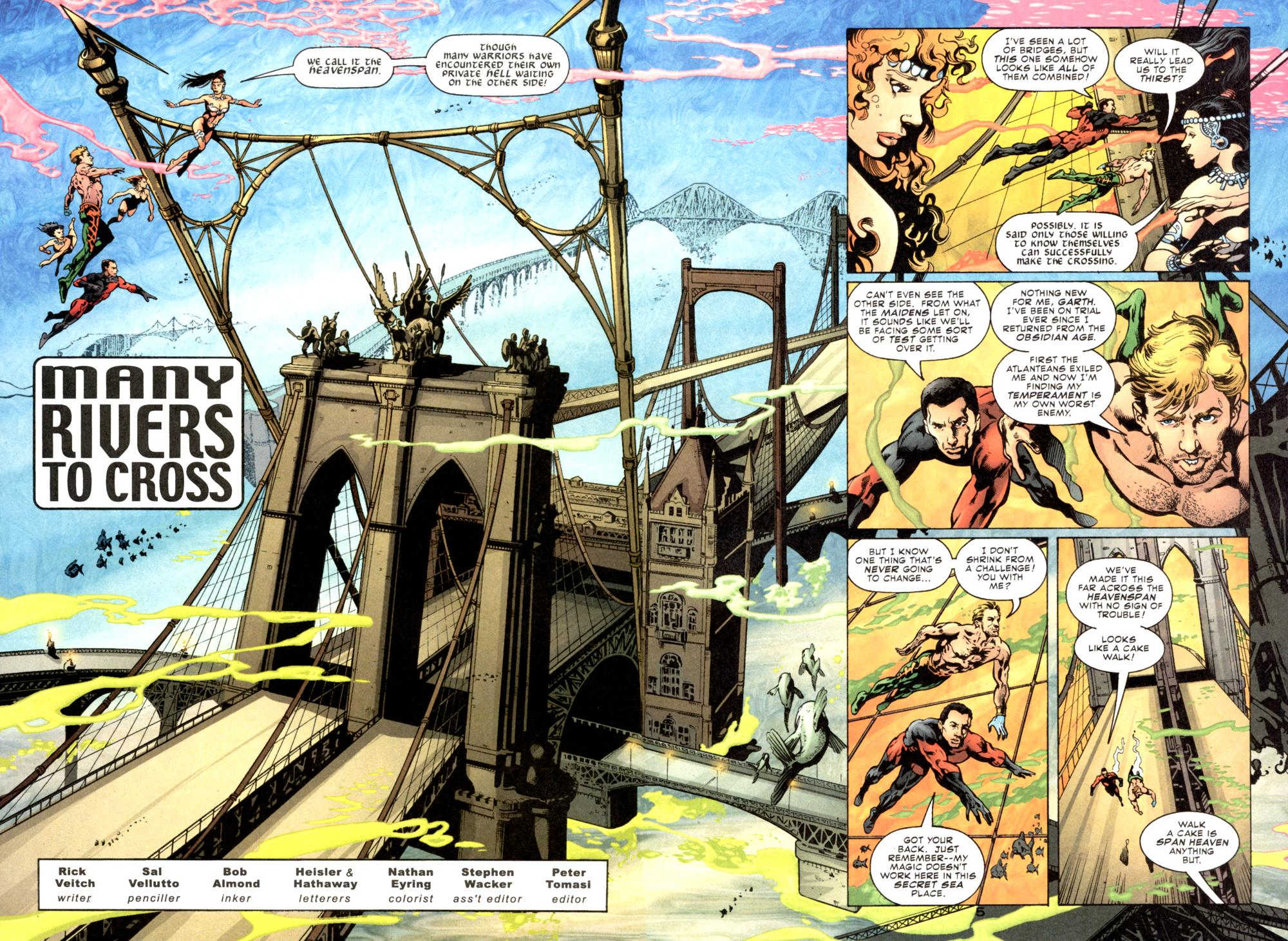 Read online Aquaman (2003) comic -  Issue #6 - 6