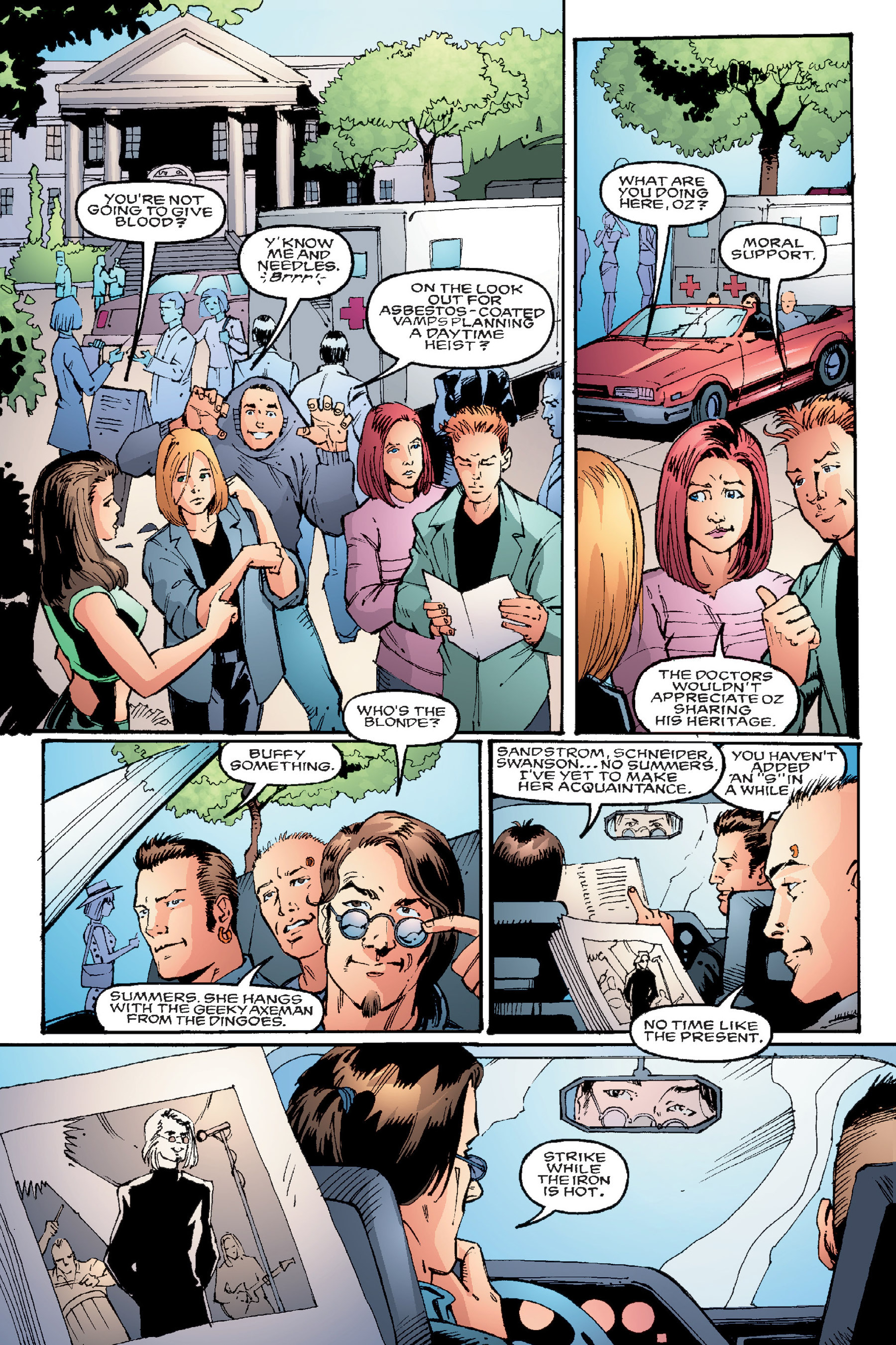 Read online Buffy the Vampire Slayer: Omnibus comic -  Issue # TPB 4 - 57
