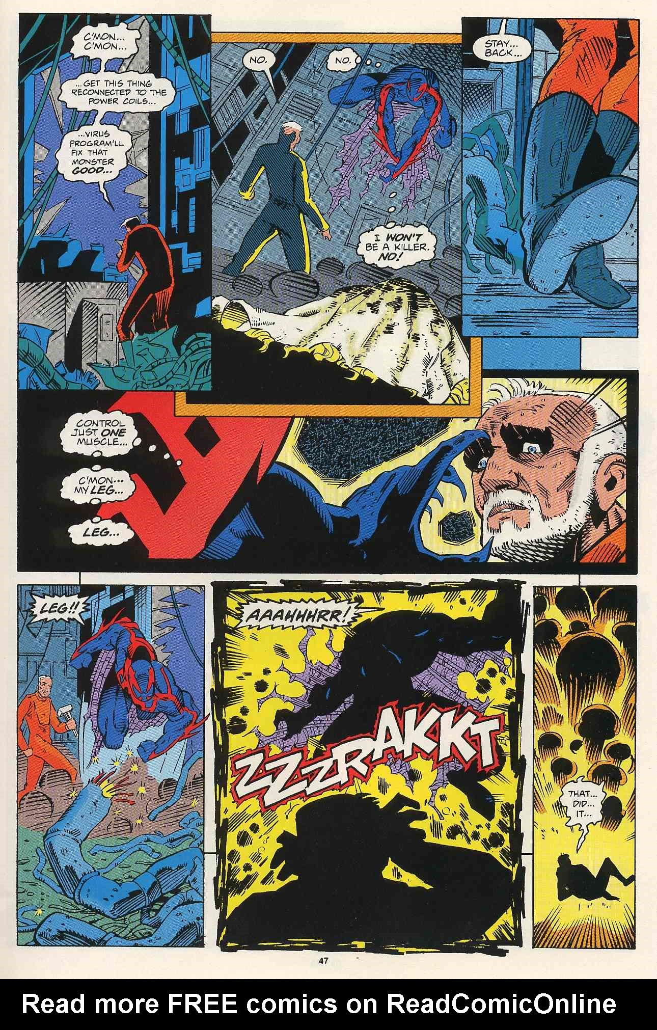 Read online 2099 Unlimited comic -  Issue #2 - 41