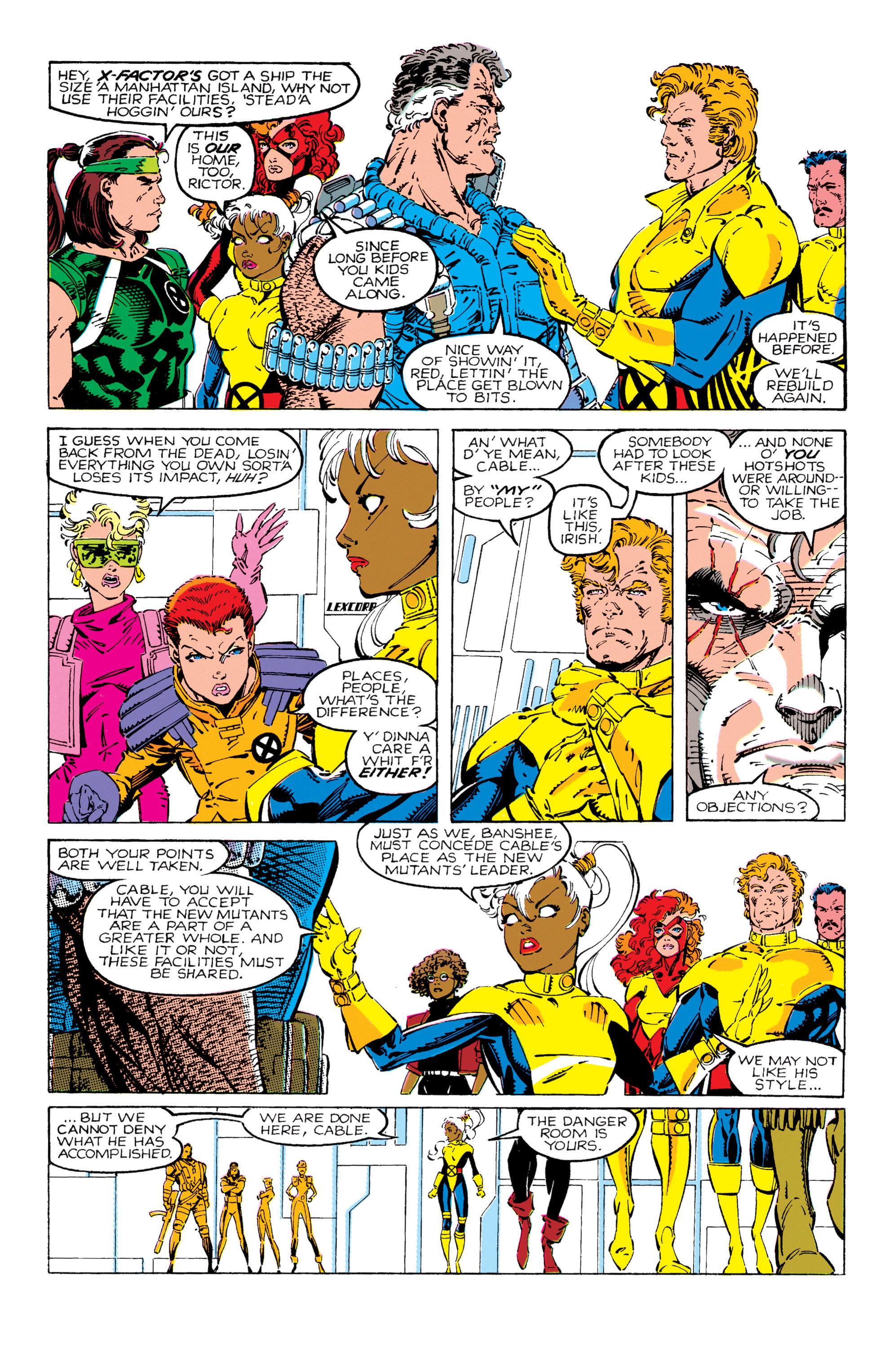 Read online Uncanny X-Men (1963) comic -  Issue #270 - 8