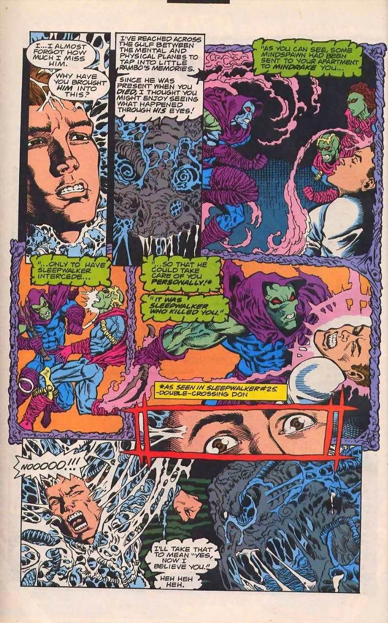 Read online Sleepwalker comic -  Issue #32 - 11