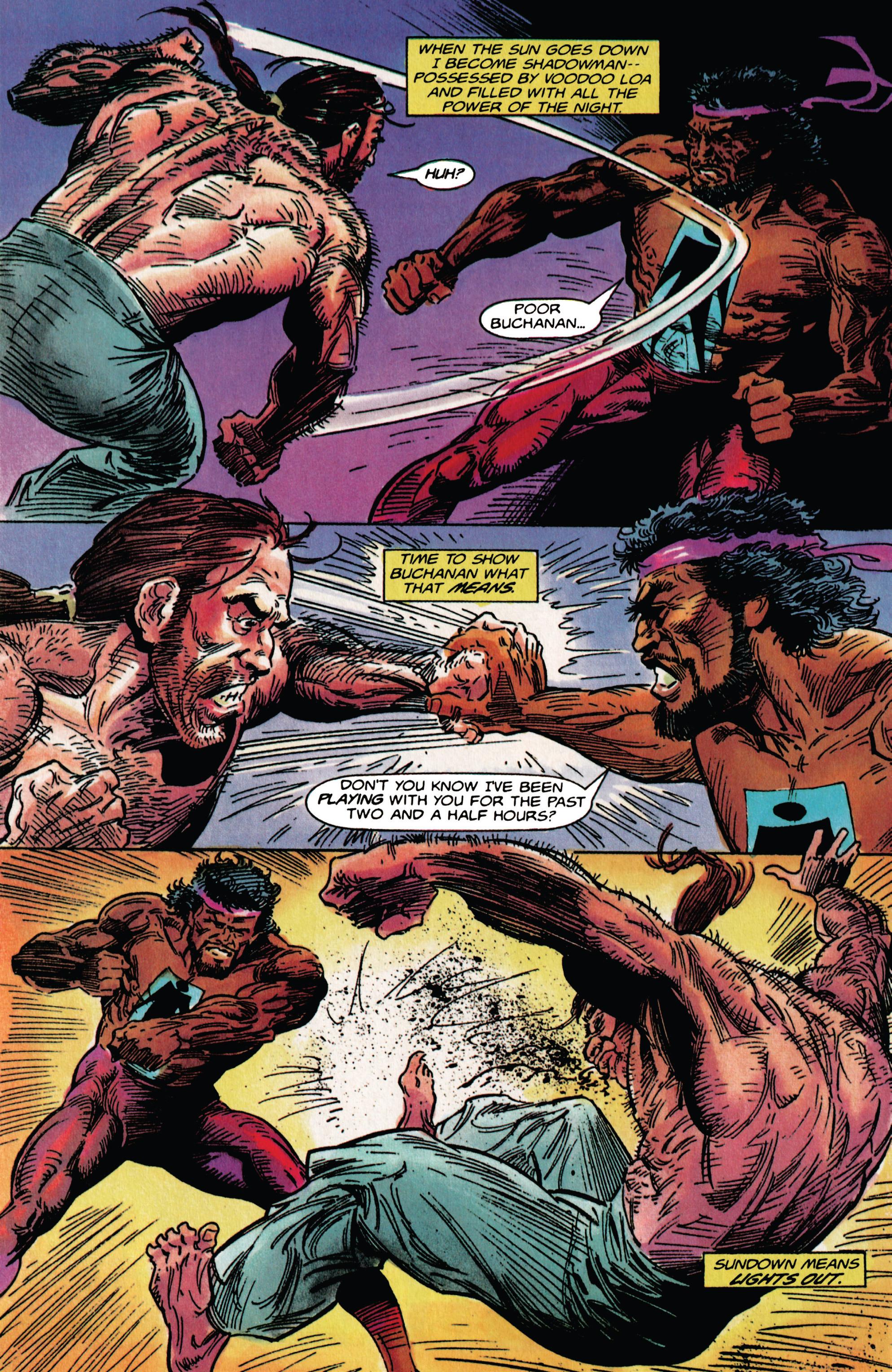 Read online Shadowman (1992) comic -  Issue # _TPB 1 - 25