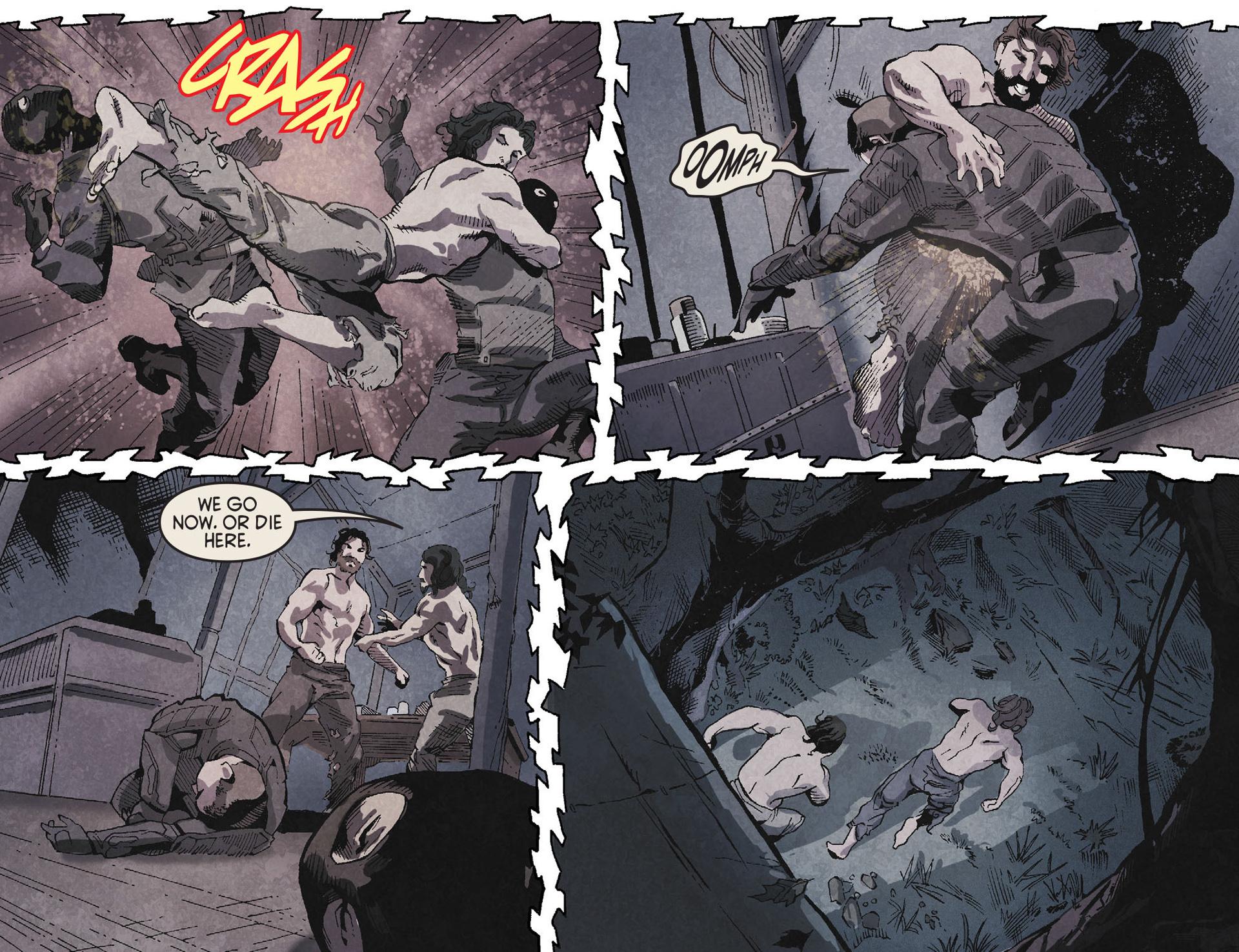 Read online Arrow [II] comic -  Issue #19 - 20