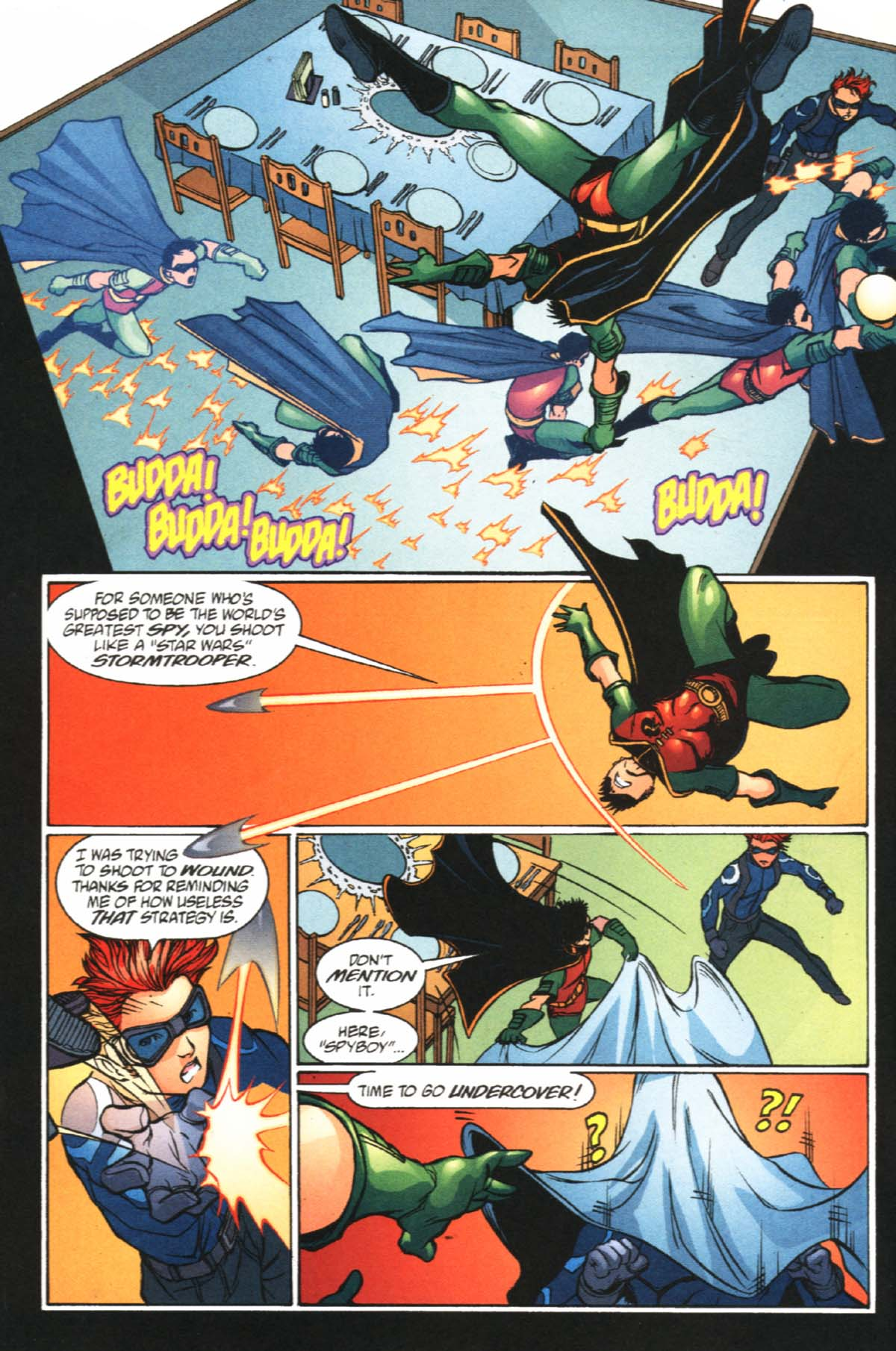 Read online SpyBoy/Young Justice comic -  Issue #2 - 9