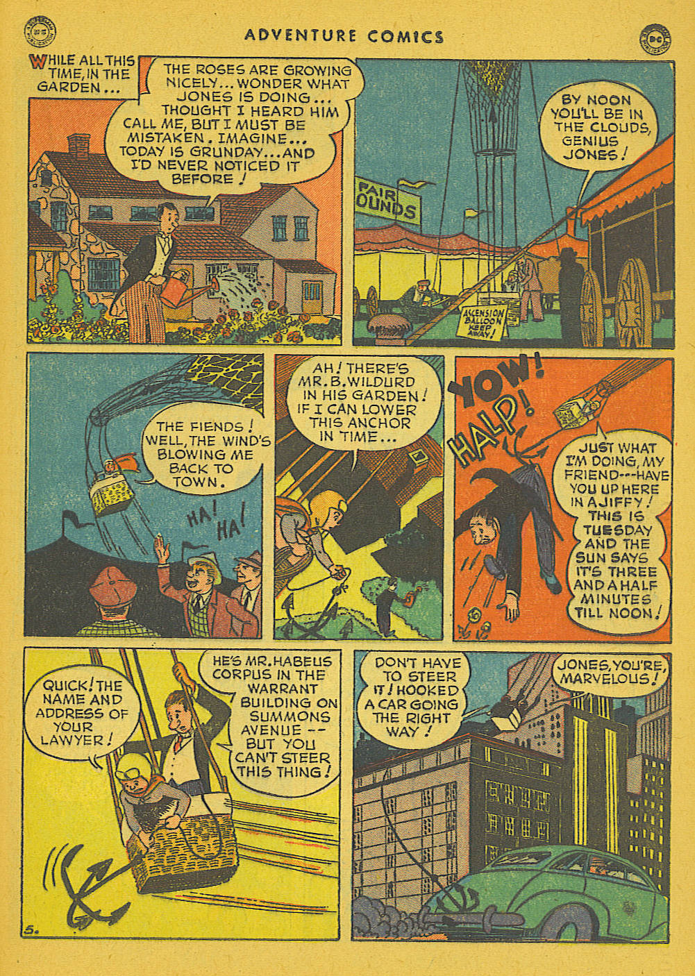 Read online Adventure Comics (1938) comic -  Issue #102 - 31