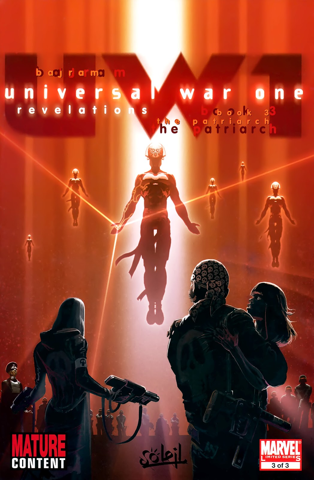 Read online Universal War One: Revelations comic -  Issue #3 - 1