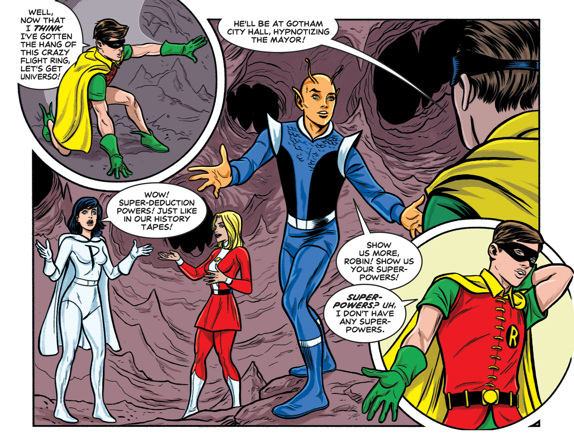 Read online Batman '66 Meets the Legion of Super-Heroes comic -  Issue #1 - 16