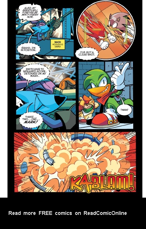 Read online Sonic Comics Spectacular: Speed of Sound comic -  Issue # Full - 67