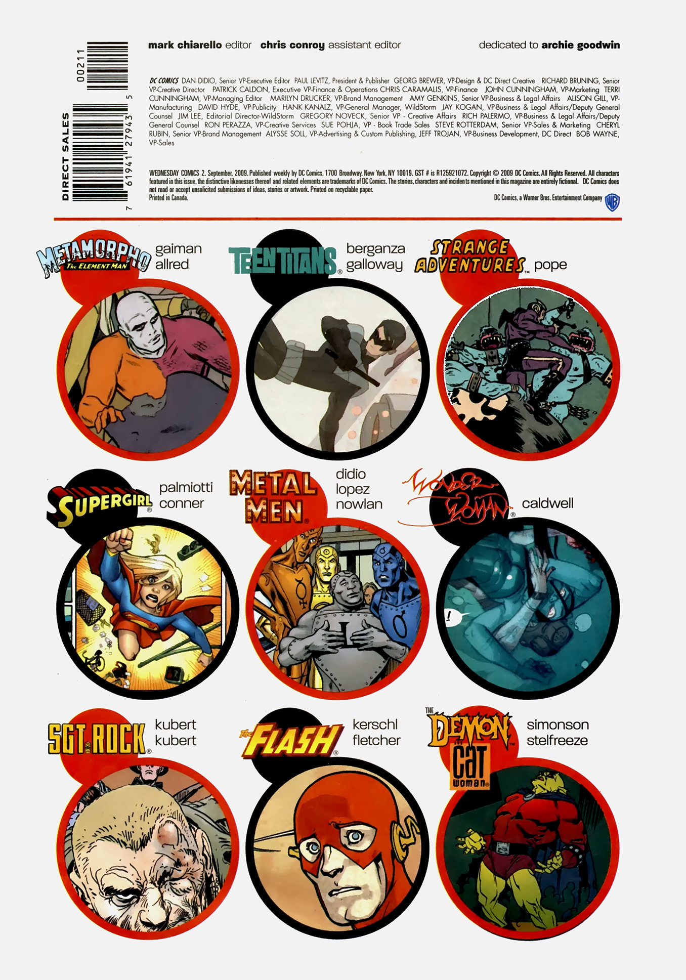 Read online Wednesday Comics comic -  Issue #2 - 18