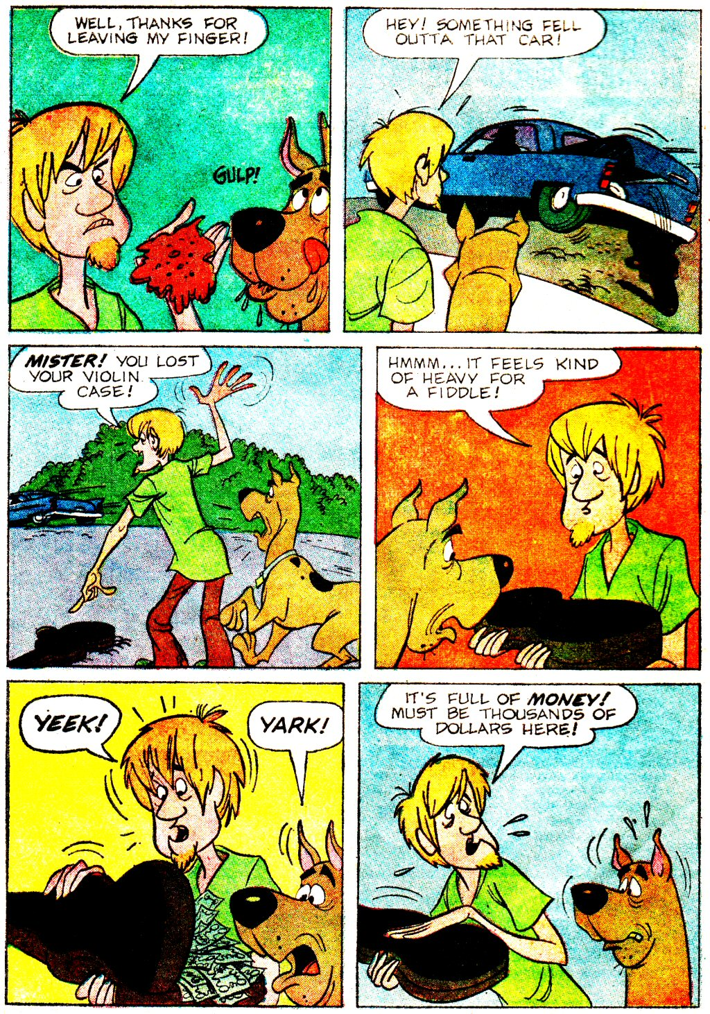 Read online Scooby-Doo... Where Are You! (1970) comic -  Issue #3 - 4