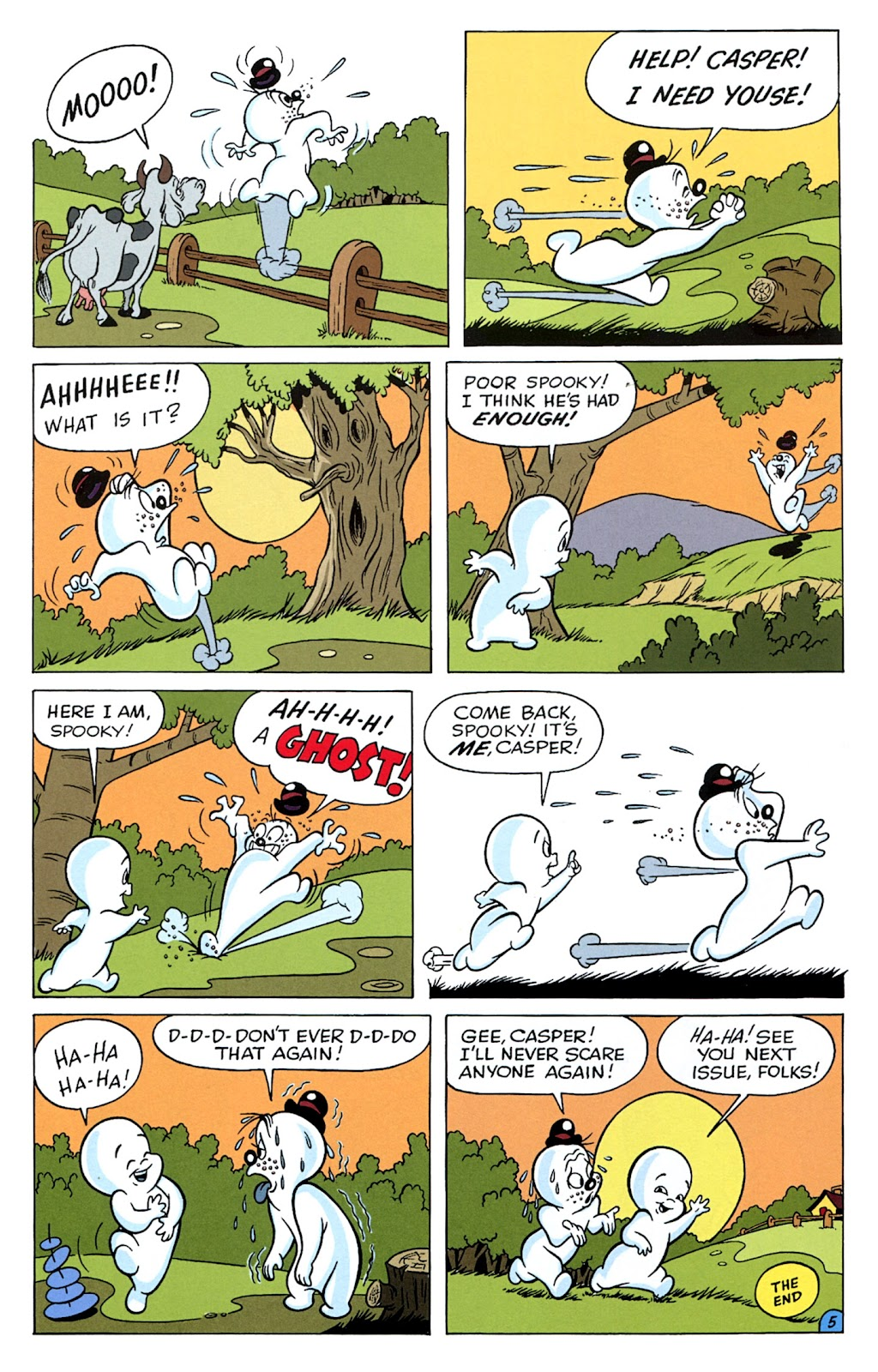 Read online Casper's Scare School comic -  Issue #2 - 23