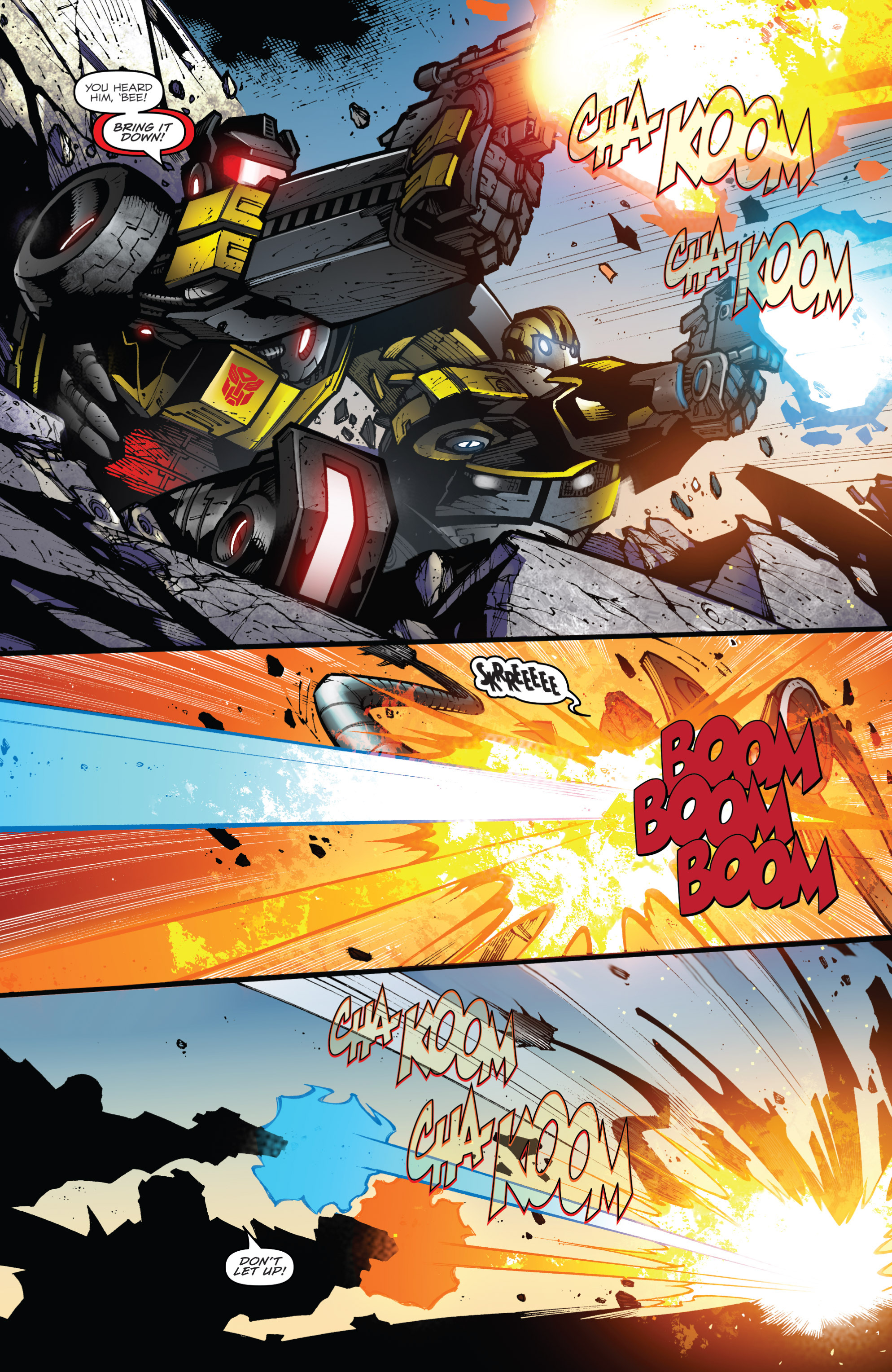 Read online Transformers Prime: Beast Hunters comic -  Issue #8 - 16