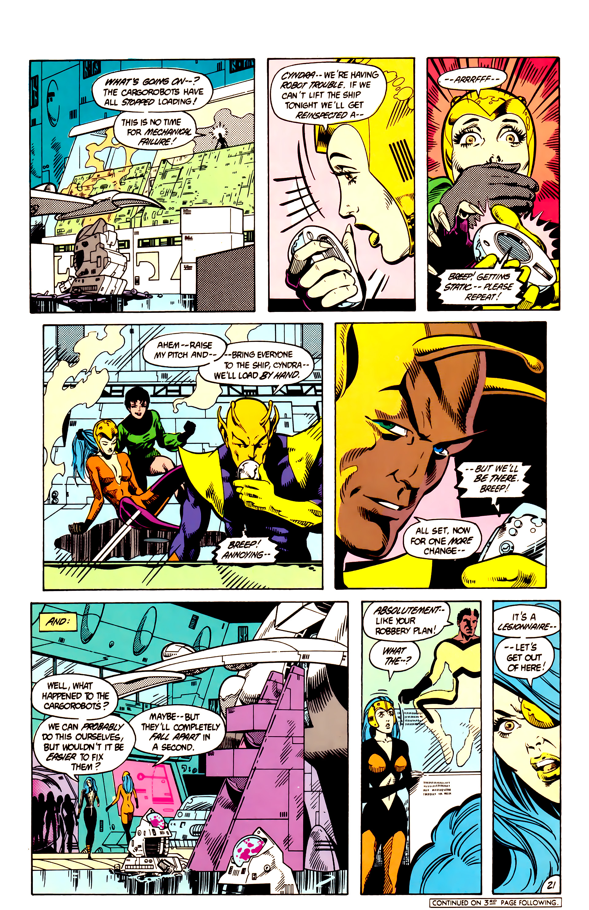 Legion of Super-Heroes (1984) 9 Page 22