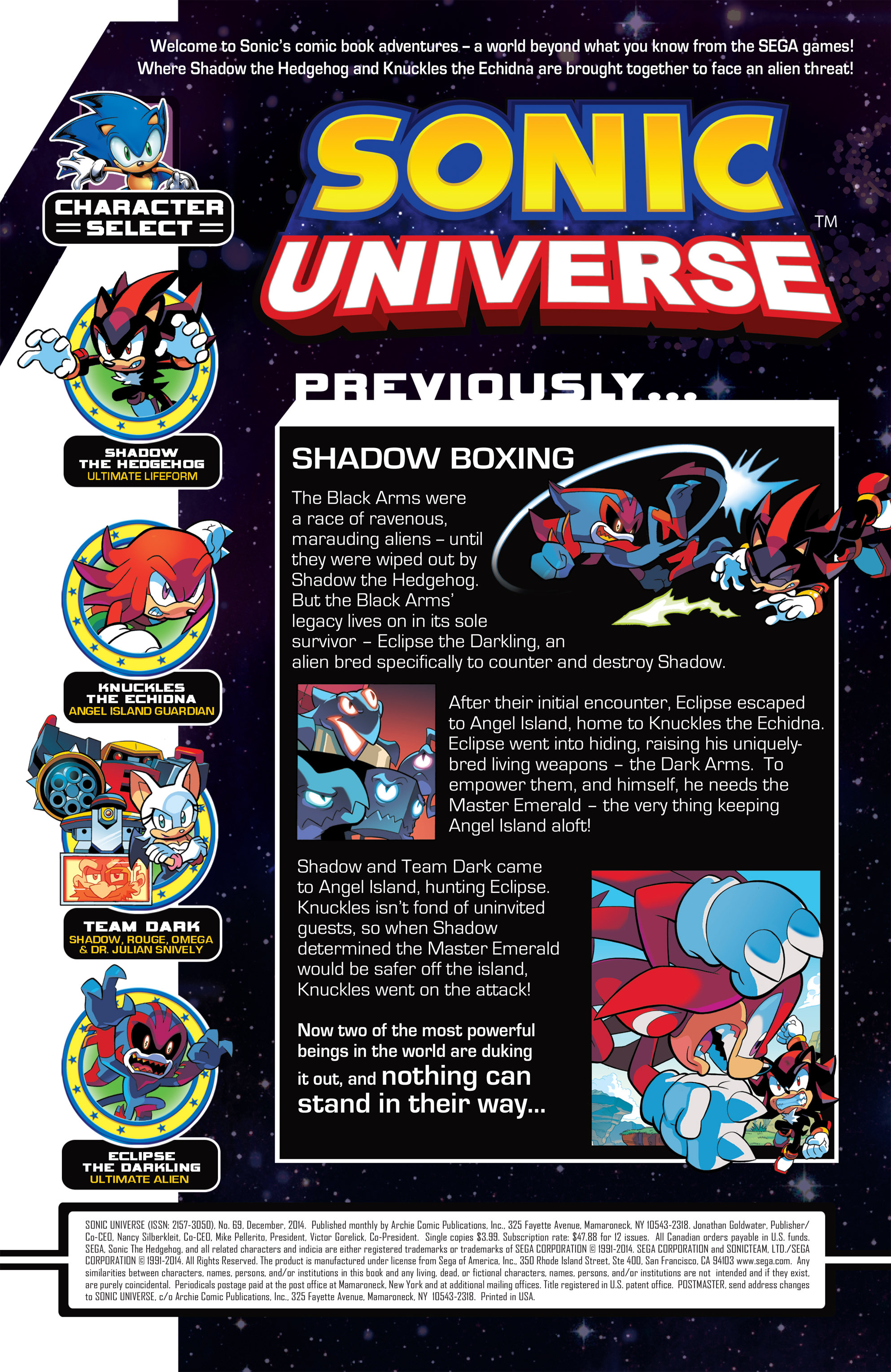Read online Sonic Universe comic -  Issue #69 - 2
